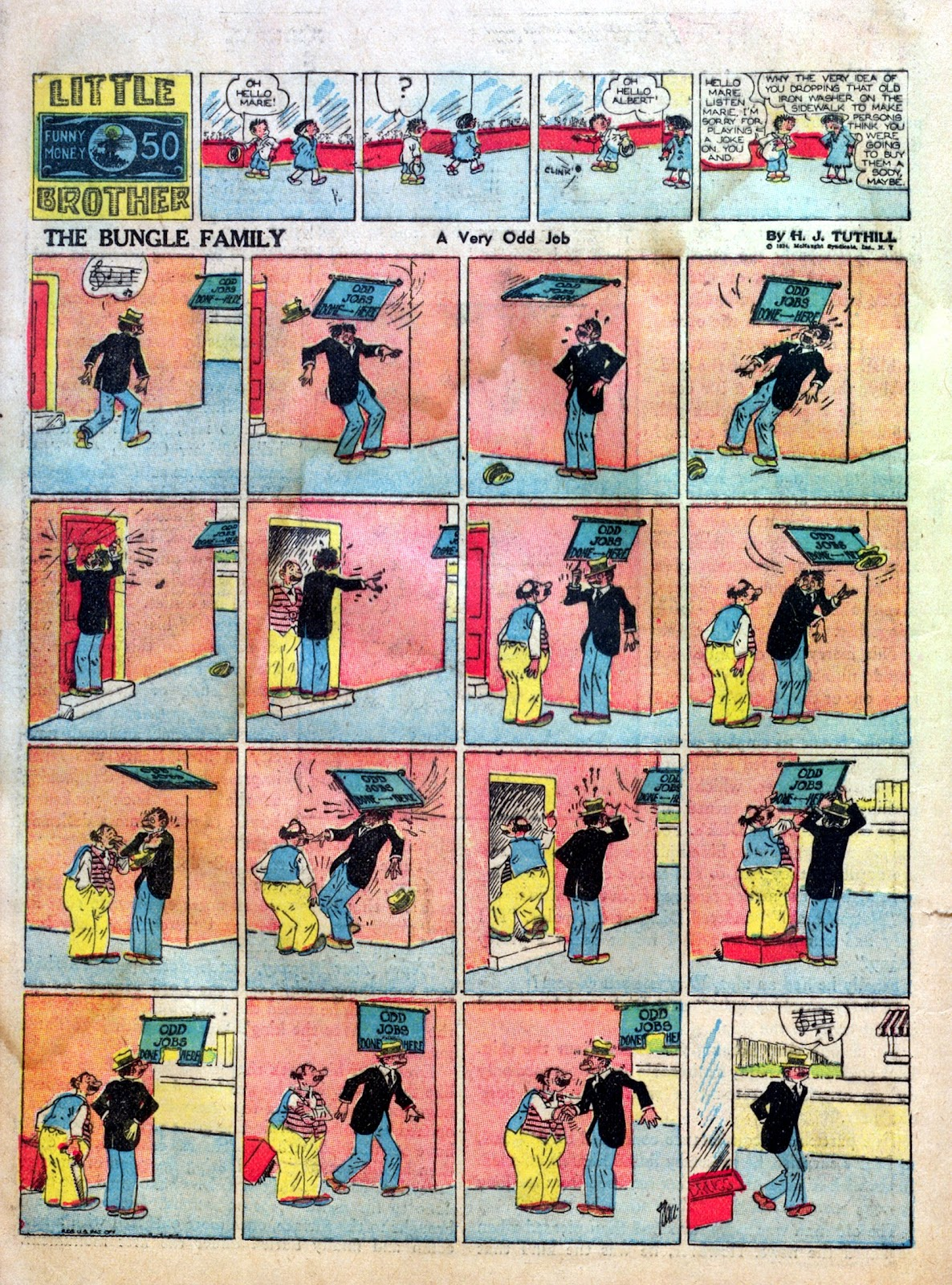 Read online Famous Funnies comic -  Issue #1 - 36