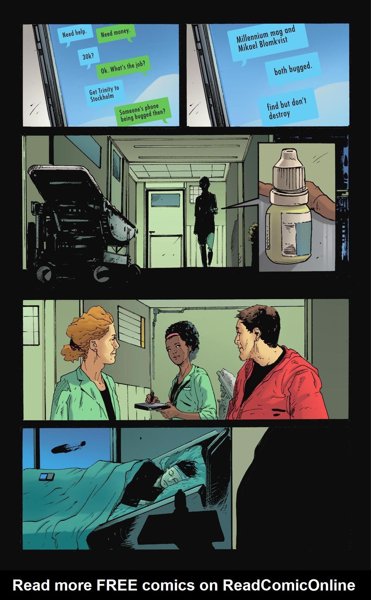 Read online The Girl Who Kicked The Hornet's Nest comic -  Issue # TPB - 172