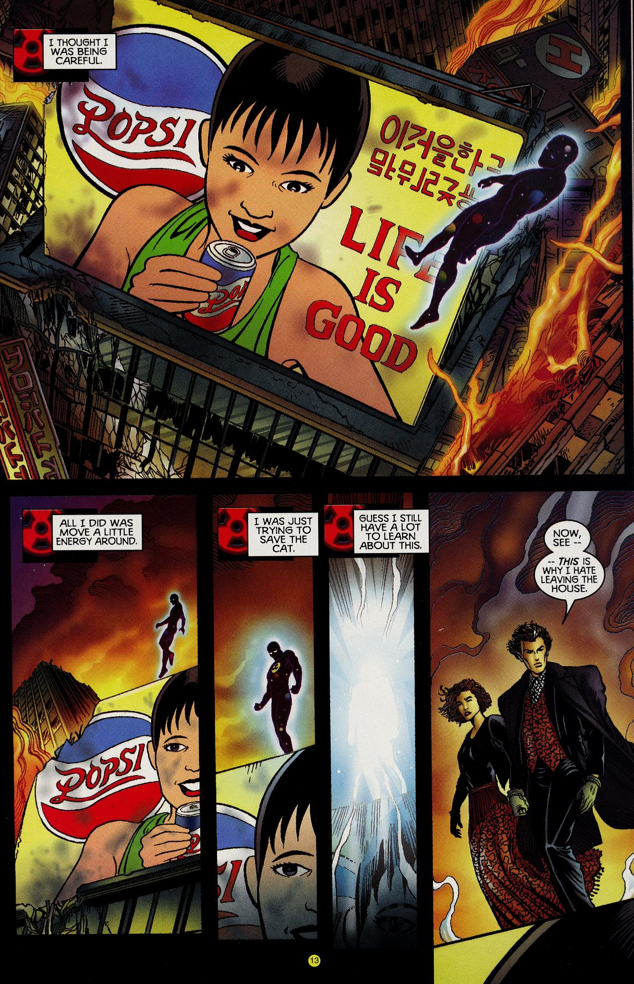 Read online Solar, Man of the Atom: Hell on Earth comic -  Issue #1 - 13