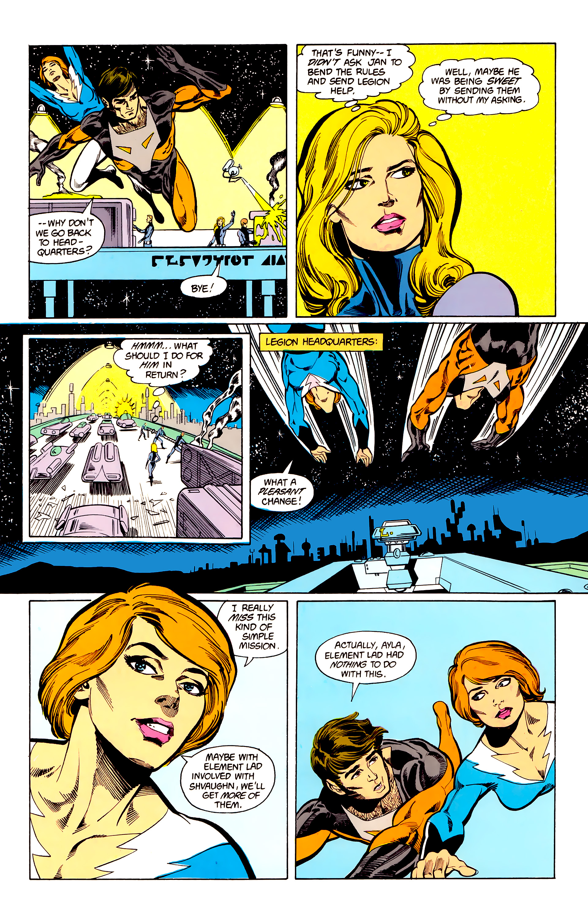 Legion of Super-Heroes (1984) 24 Page 26