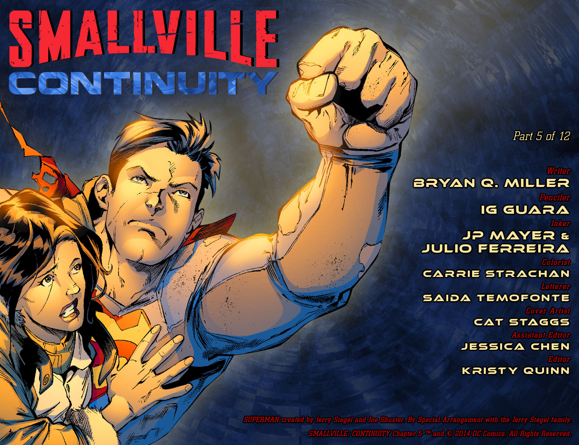 Read online Smallville: Continuity comic -  Issue #5 - 2