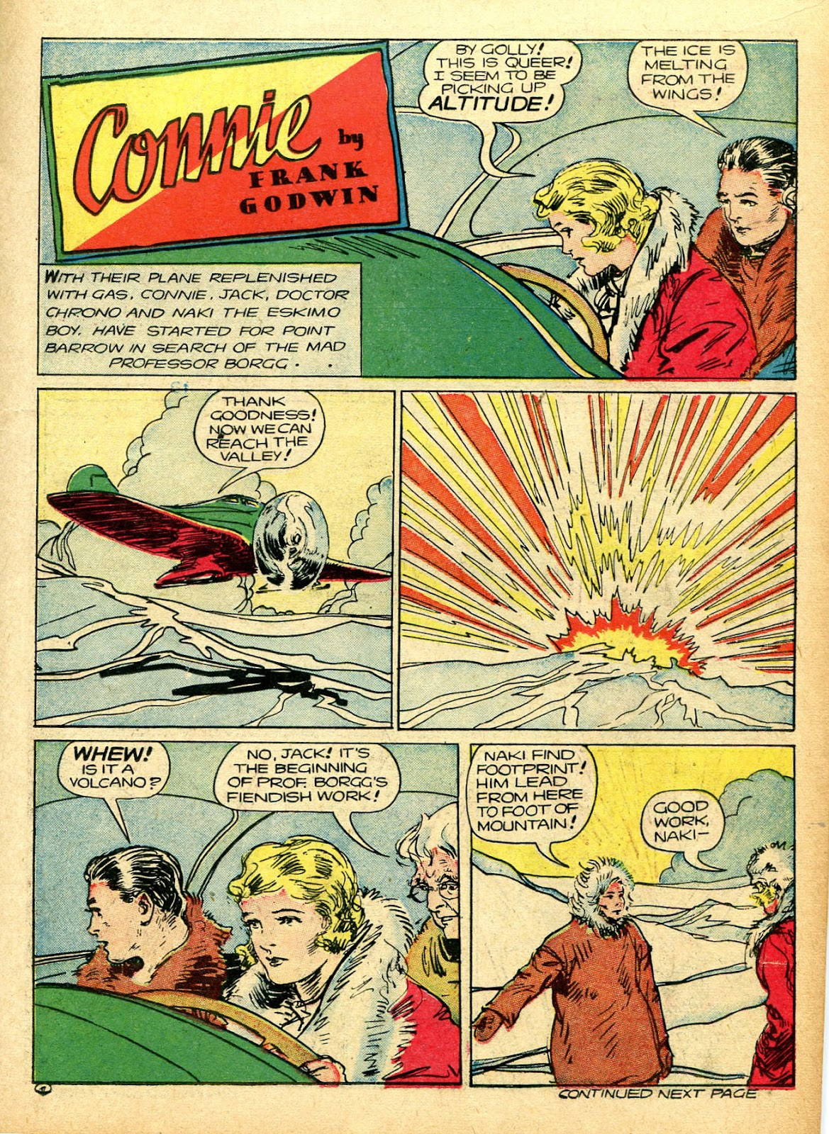Read online Famous Funnies comic -  Issue #94 - 19