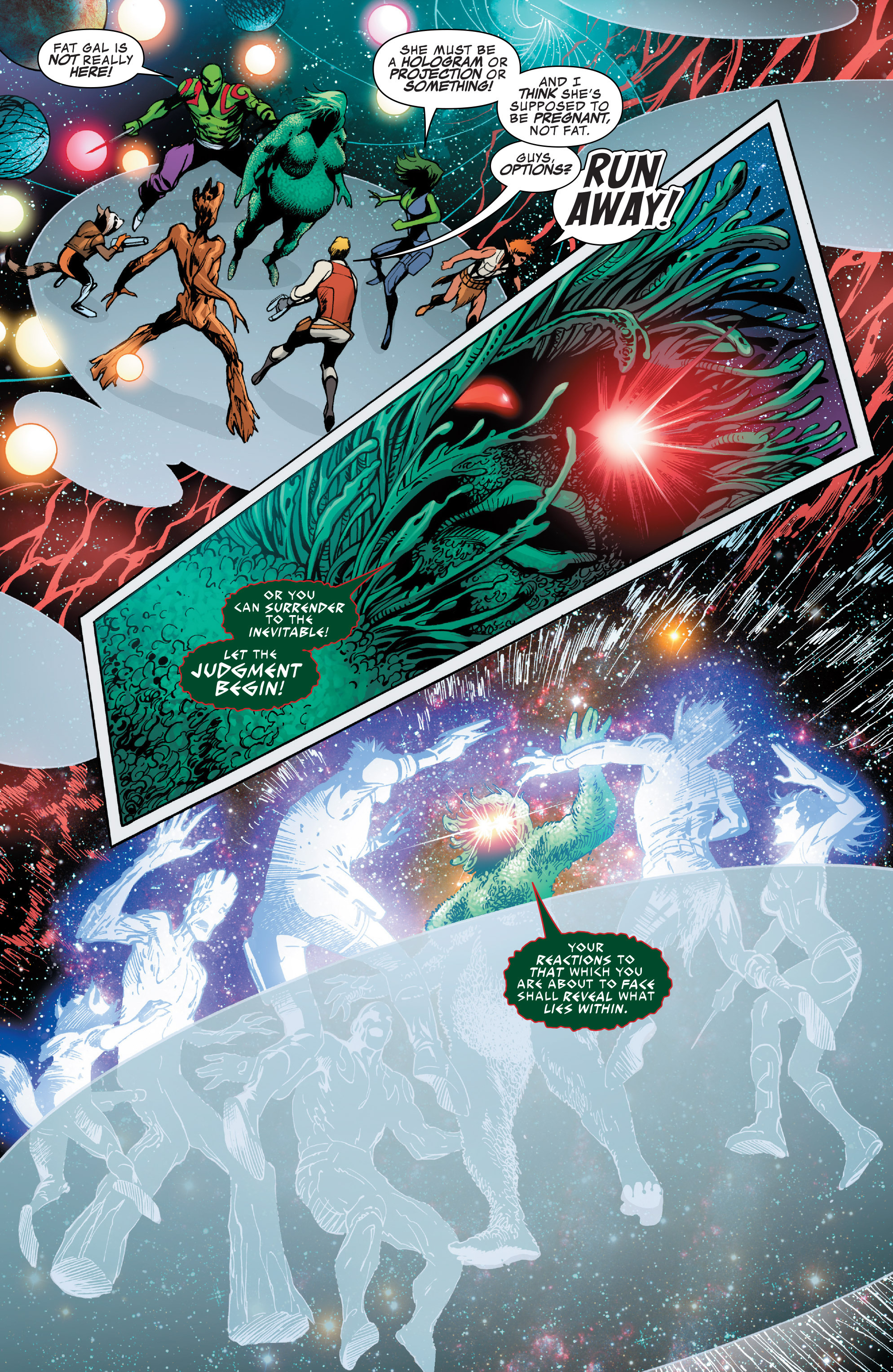Read online Guardians of the Galaxy: Mother Entropy comic -  Issue #2 - 7