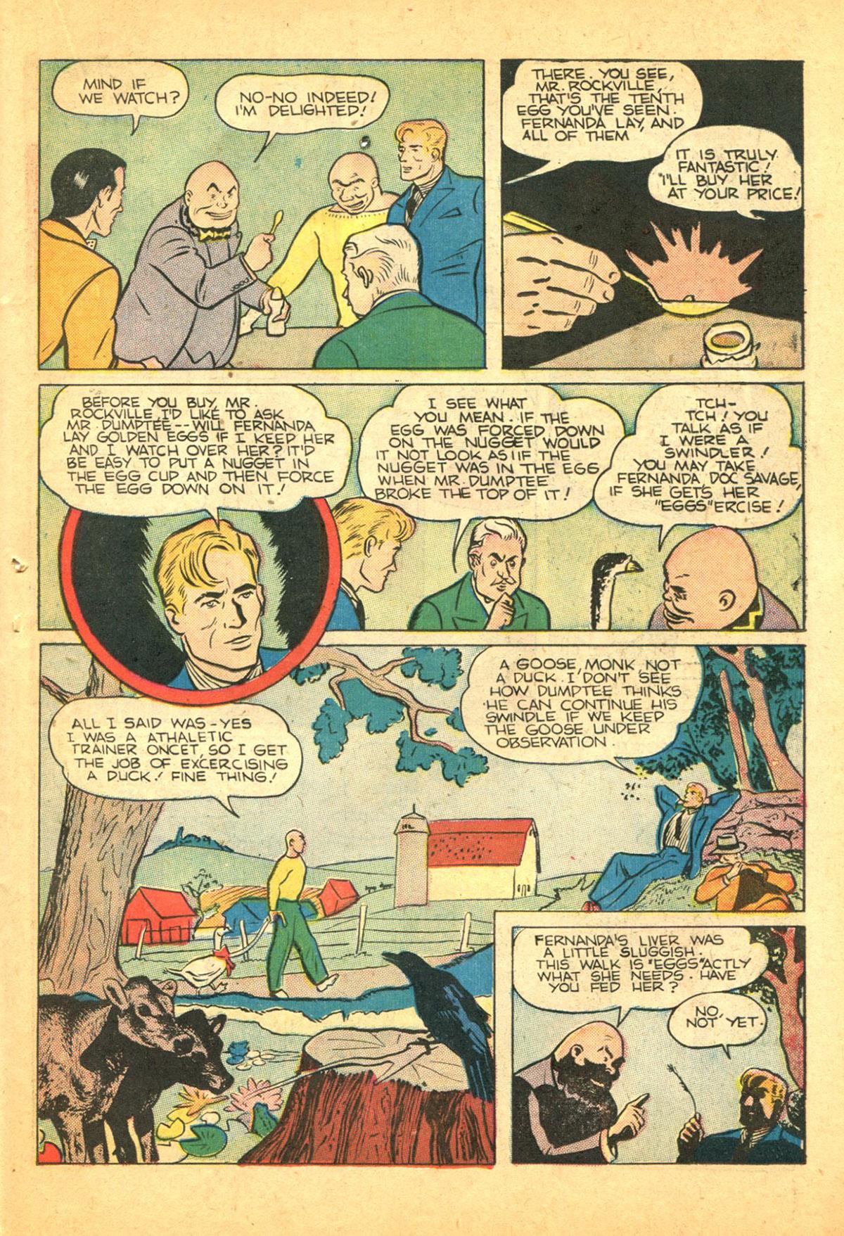 Read online Shadow Comics comic -  Issue #38 - 41