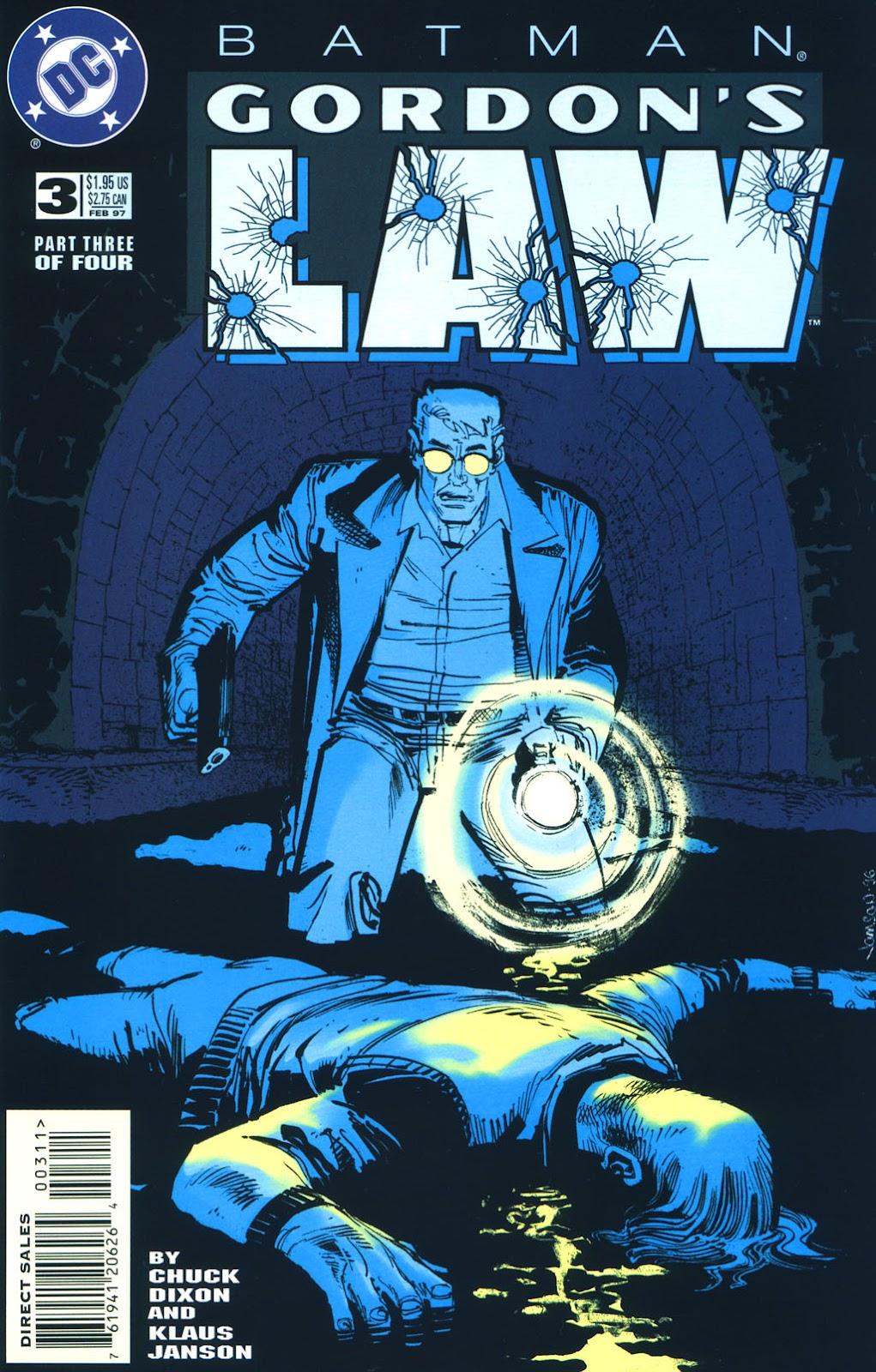 Batman: Gordon's Law issue 3 - Page 1