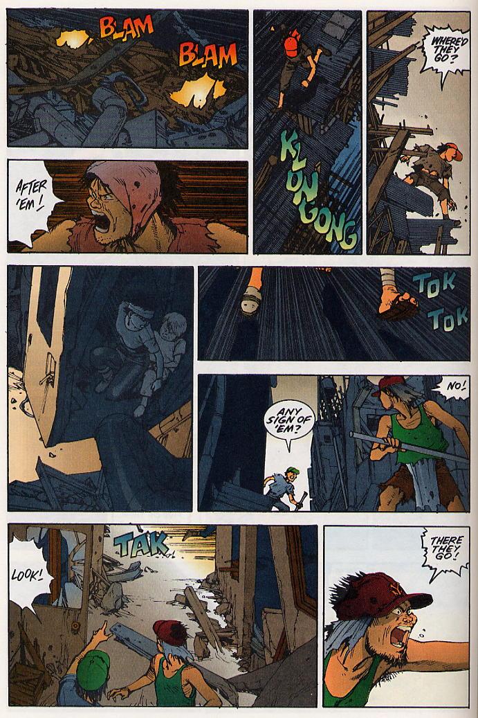 Read online Akira comic -  Issue #19 - 61