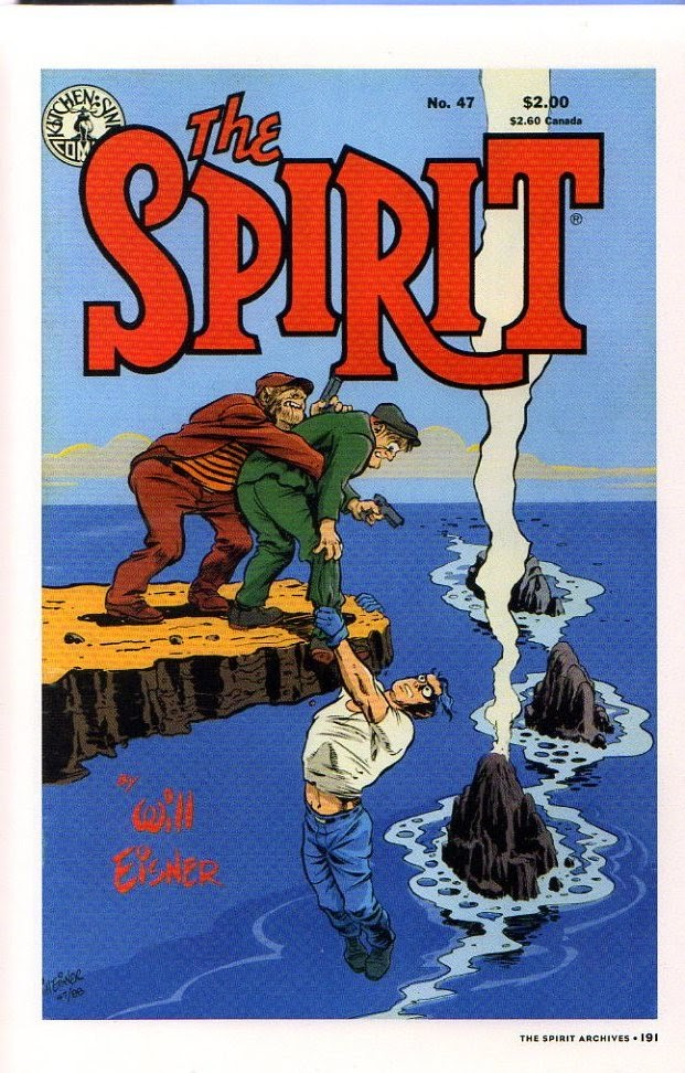 Read online Will Eisner's The Spirit Archives comic -  Issue # TPB 26 (Part 2) - 98