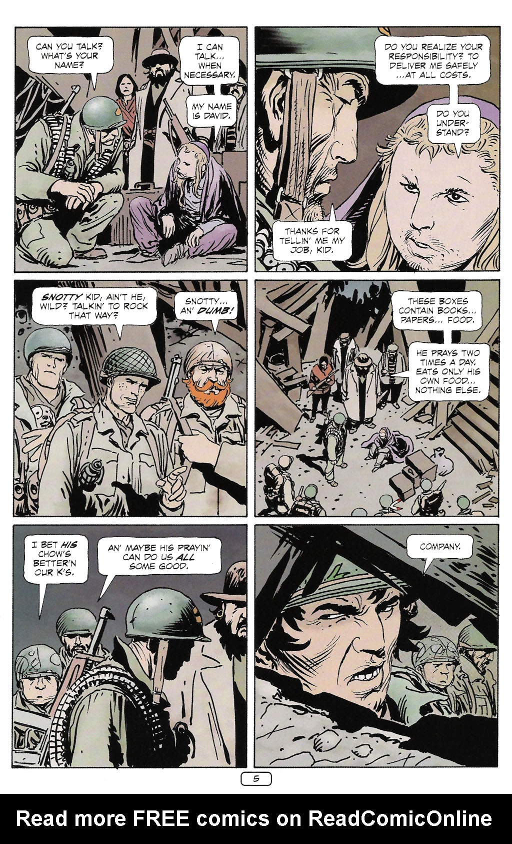 Read online Sgt. Rock: The Prophecy comic -  Issue #2 - 6