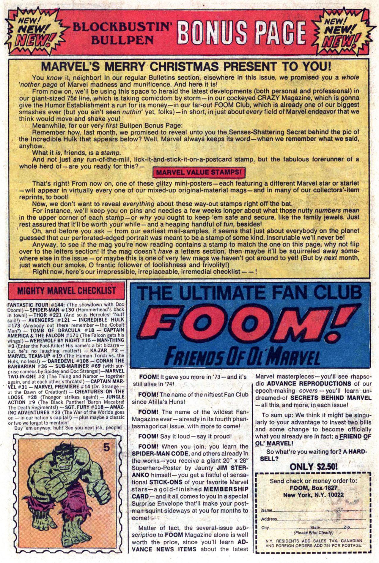 Read online Amazing Adventures (1970) comic -  Issue #23 - 29