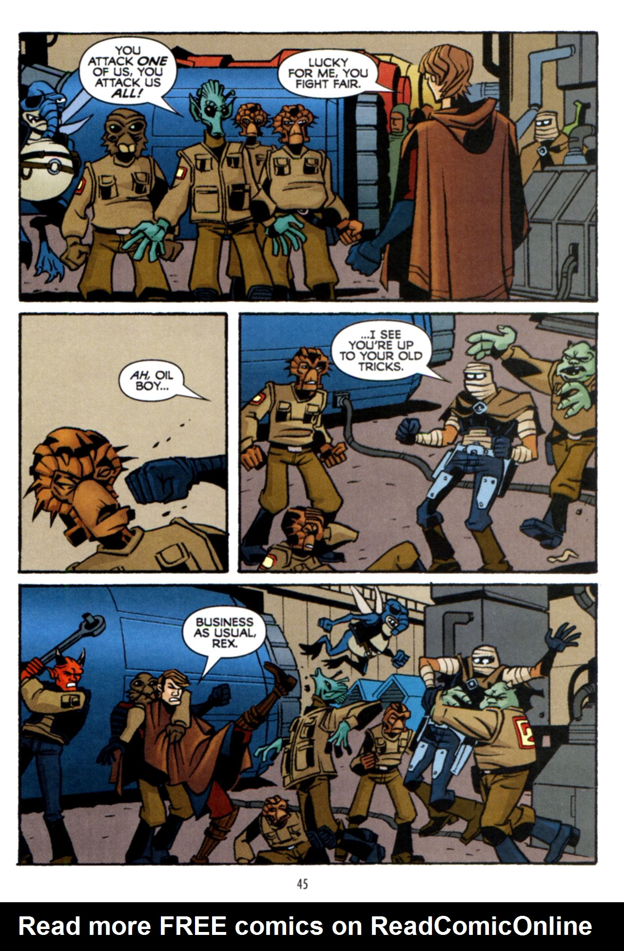 Read online Star Wars: The Clone Wars - Crash Course comic -  Issue # Full - 46