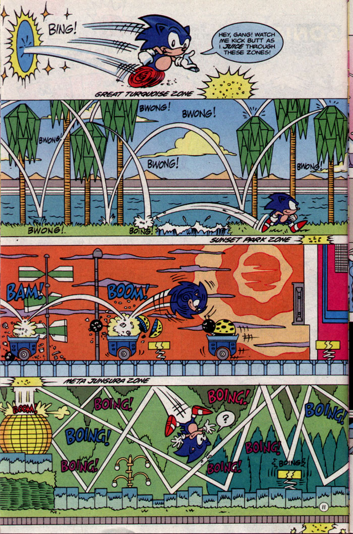 Read online Sonic The Hedgehog Triple Trouble Special comic -  Issue # Full - 13