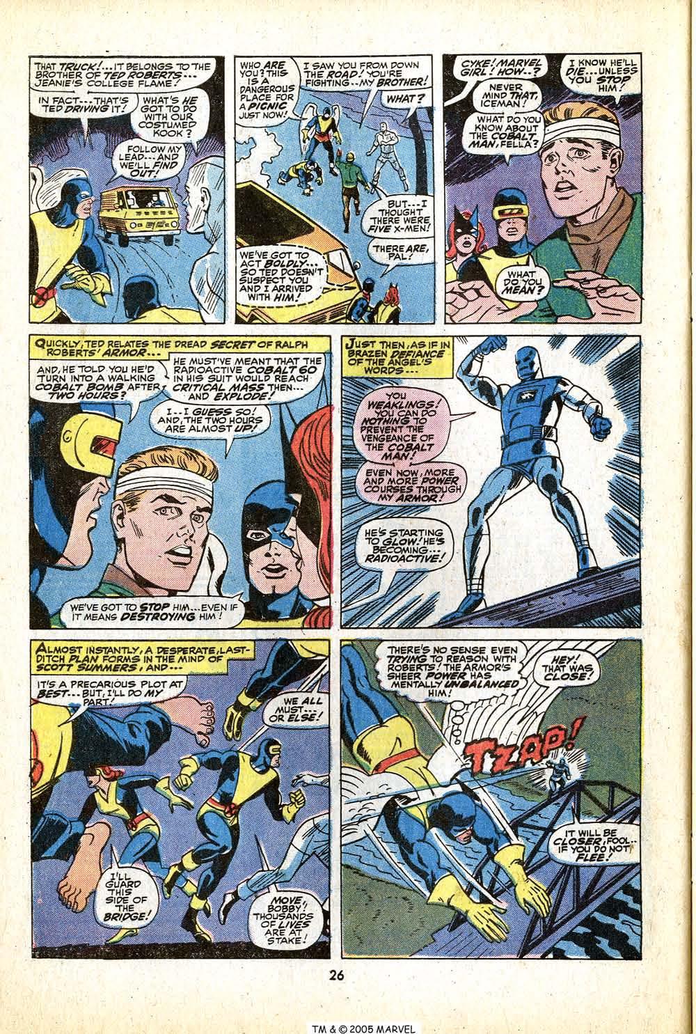Uncanny X-Men (1963) 79 Page 27
