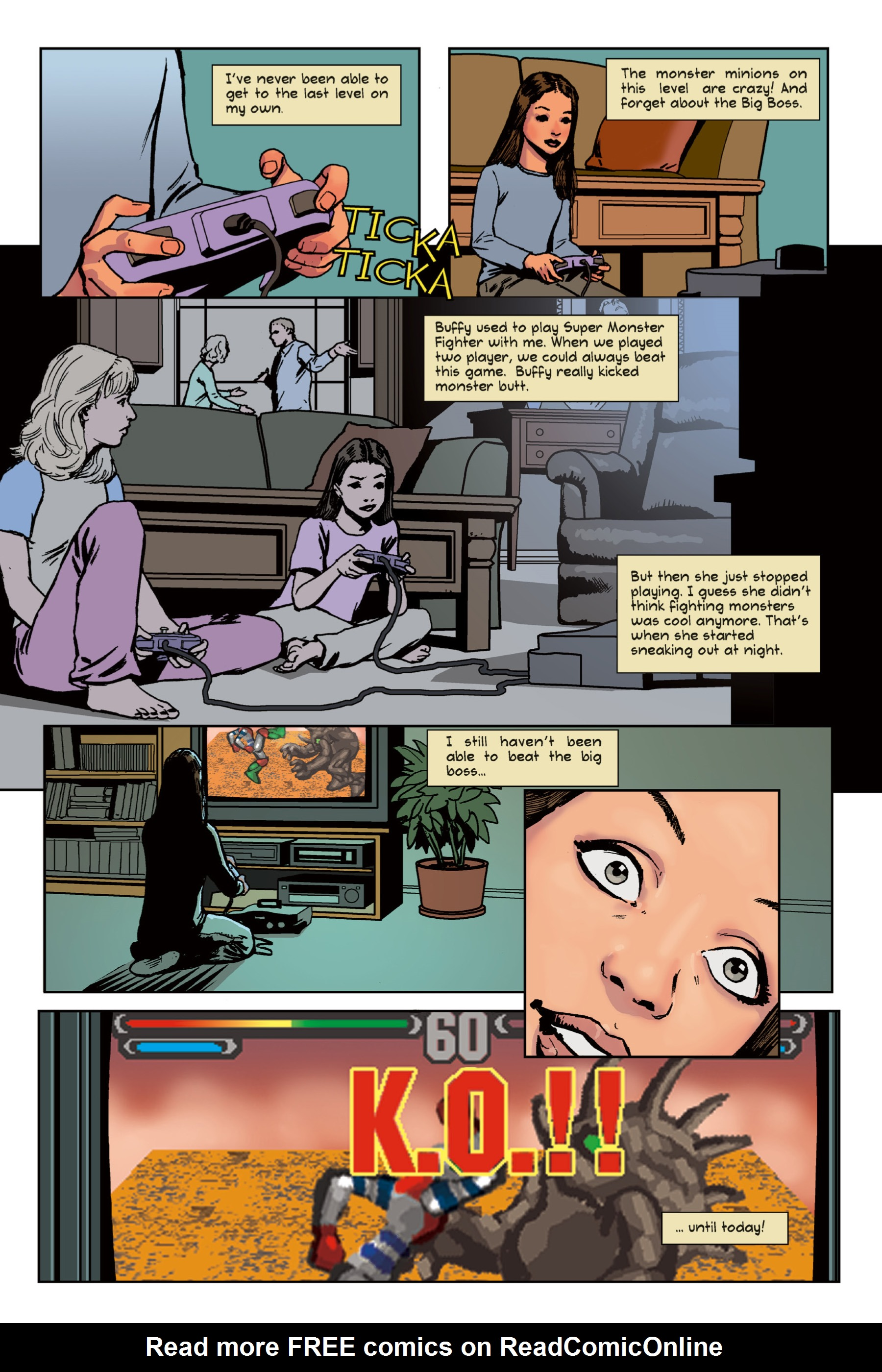 Read online Buffy the Vampire Slayer: Omnibus comic -  Issue # TPB 1 - 195