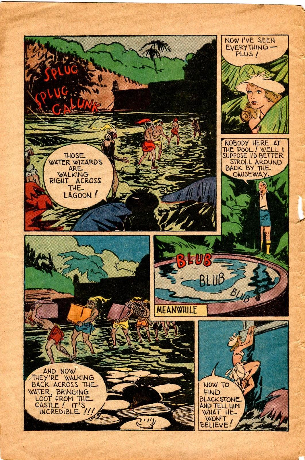 Read online Super-Magician Comics comic -  Issue #34 - 10