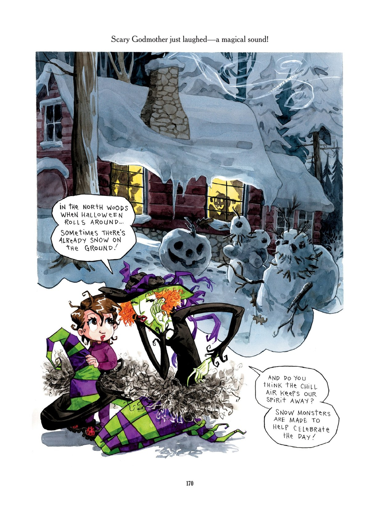 Read online Scary Godmother comic -  Issue # TPB - 170