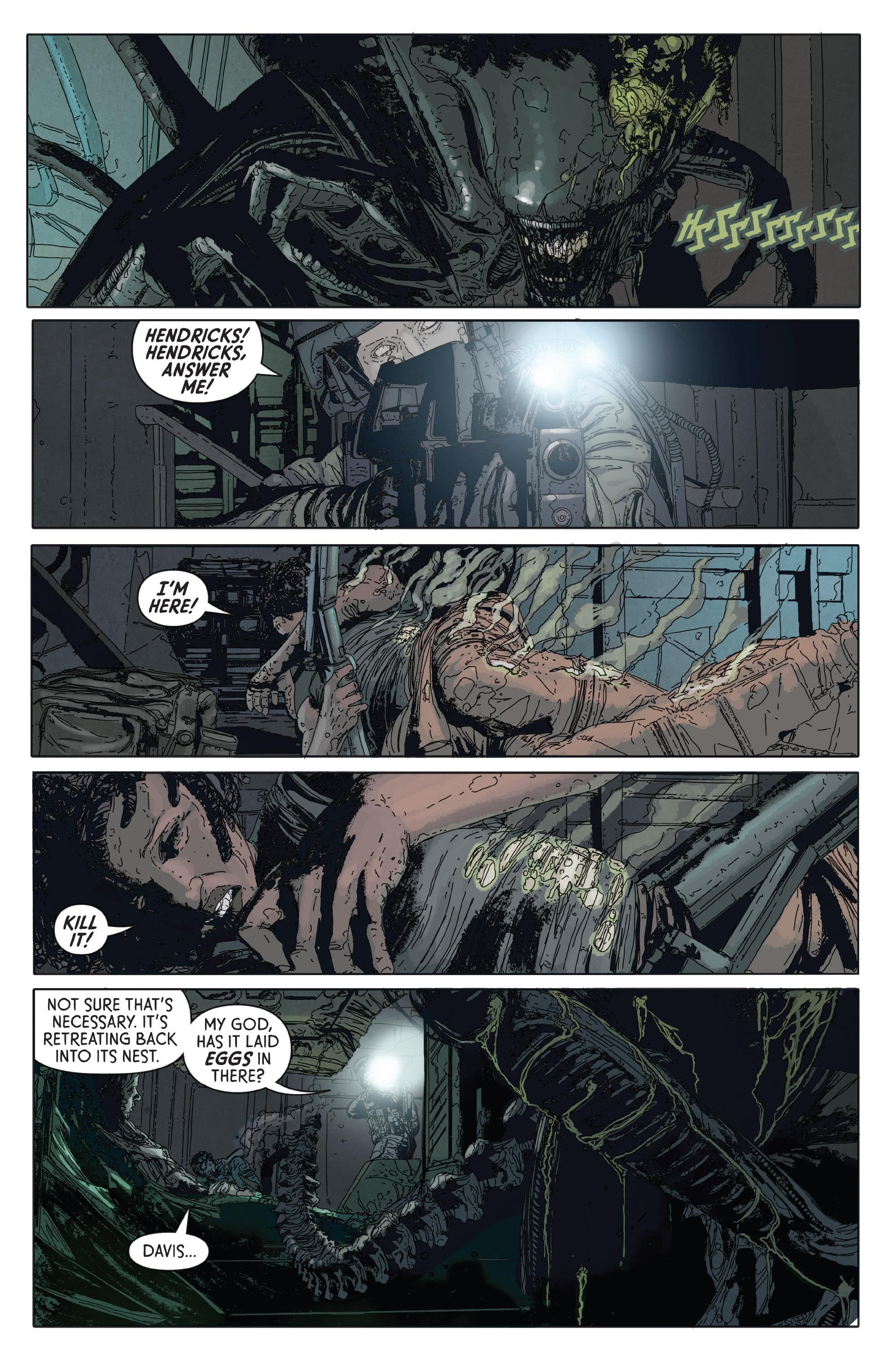 Read online Aliens: Defiance comic -  Issue #2 - 19