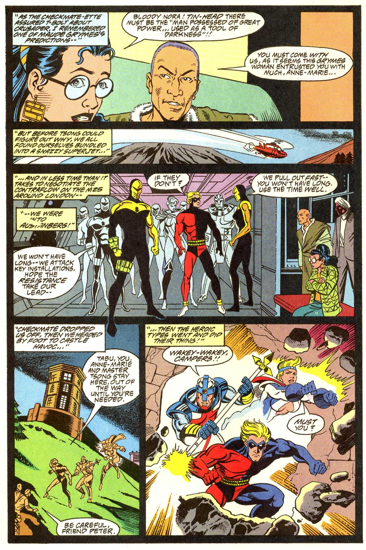 Read online Peter Cannon--Thunderbolt (1992) comic -  Issue #11 - 5