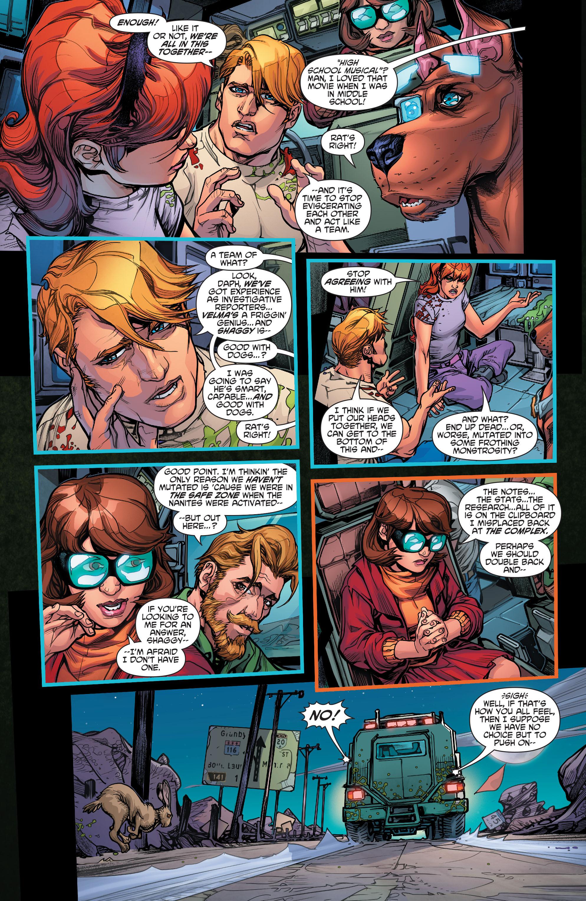 Read online Scooby Apocalypse comic -  Issue #4 - 16