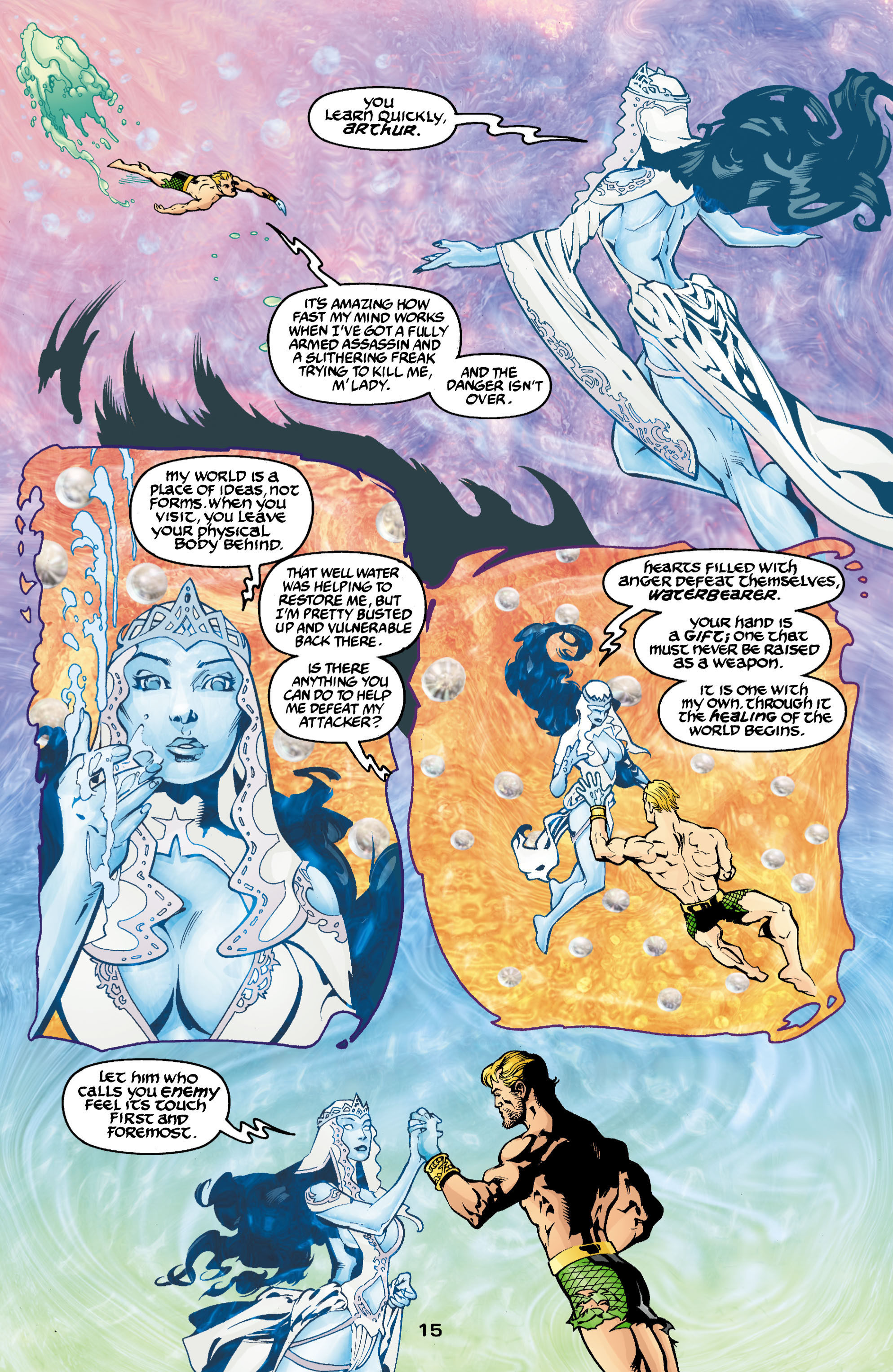 Read online Aquaman (2003) comic -  Issue #3 - 15