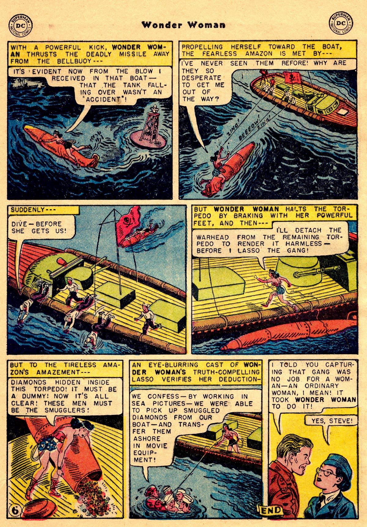 Read online Wonder Woman (1942) comic -  Issue #68 - 32