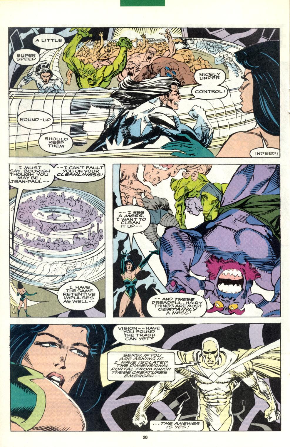 Read online Alpha Flight (1983) comic -  Issue #101 - 16