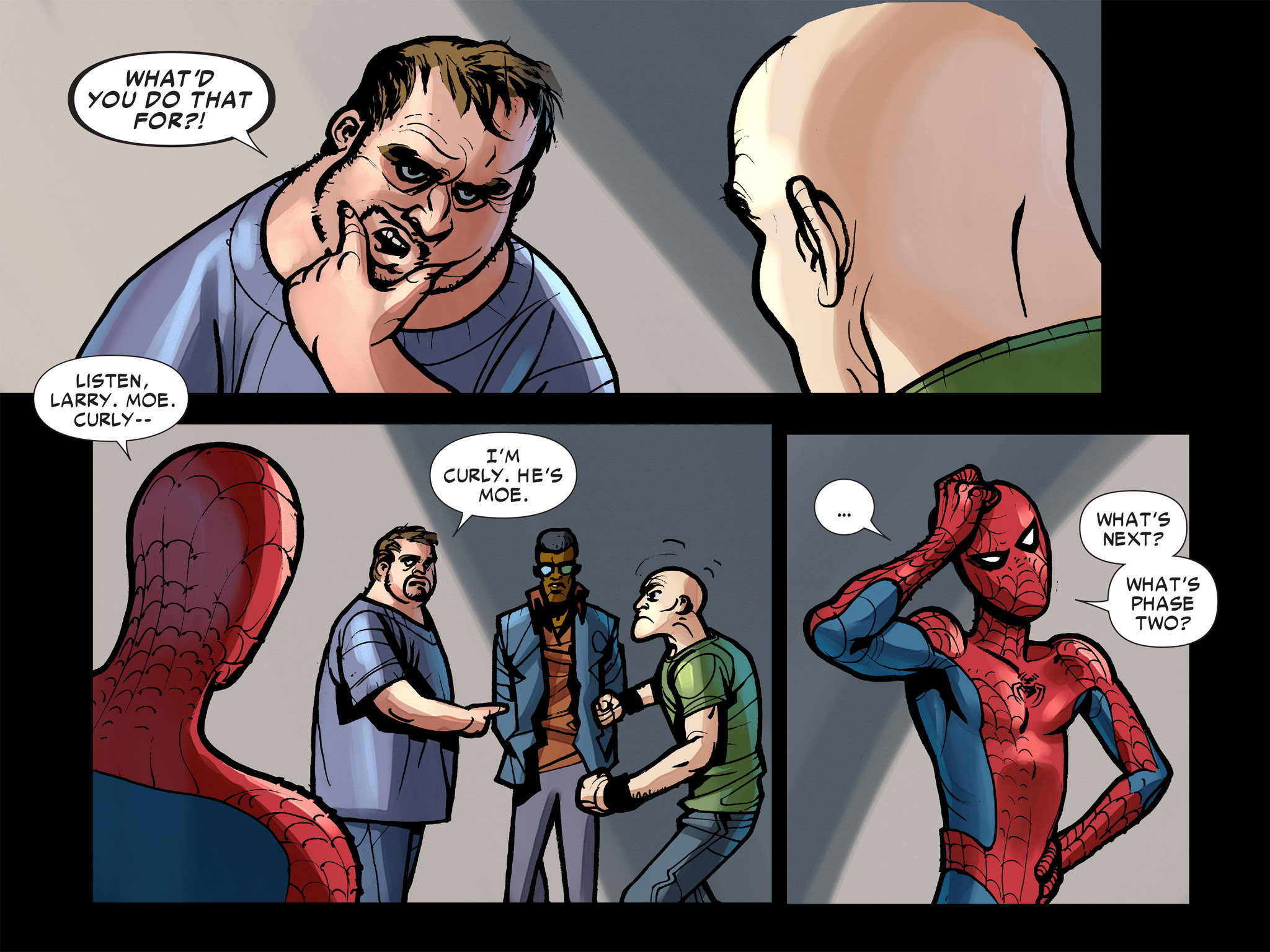 Read online Amazing Spider-Man: Who Am I? comic -  Issue # Full (Part 2) - 11