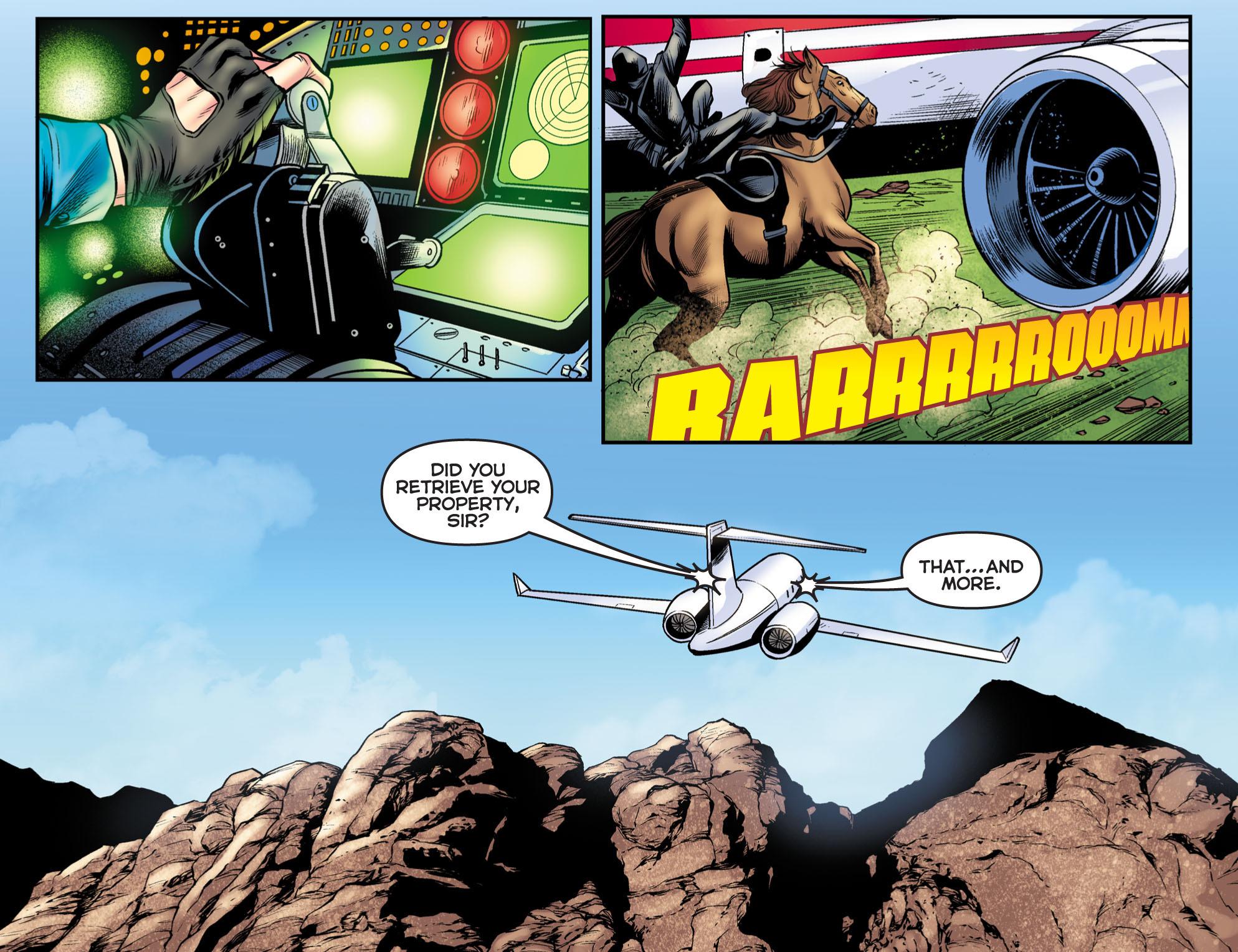 Read online Arrow: The Dark Archer comic -  Issue #9 - 12