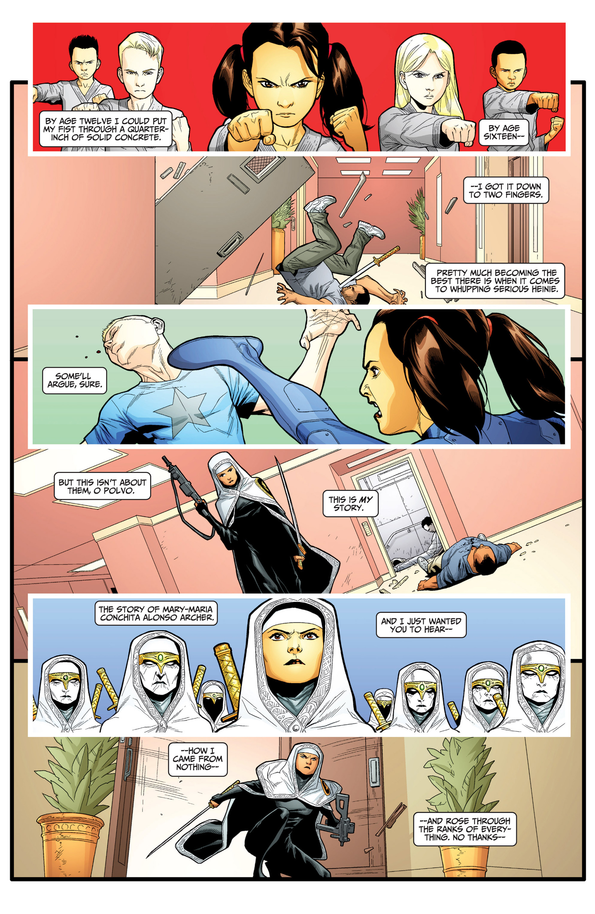 Read online Archer and Armstrong comic -  Issue #24 - 16