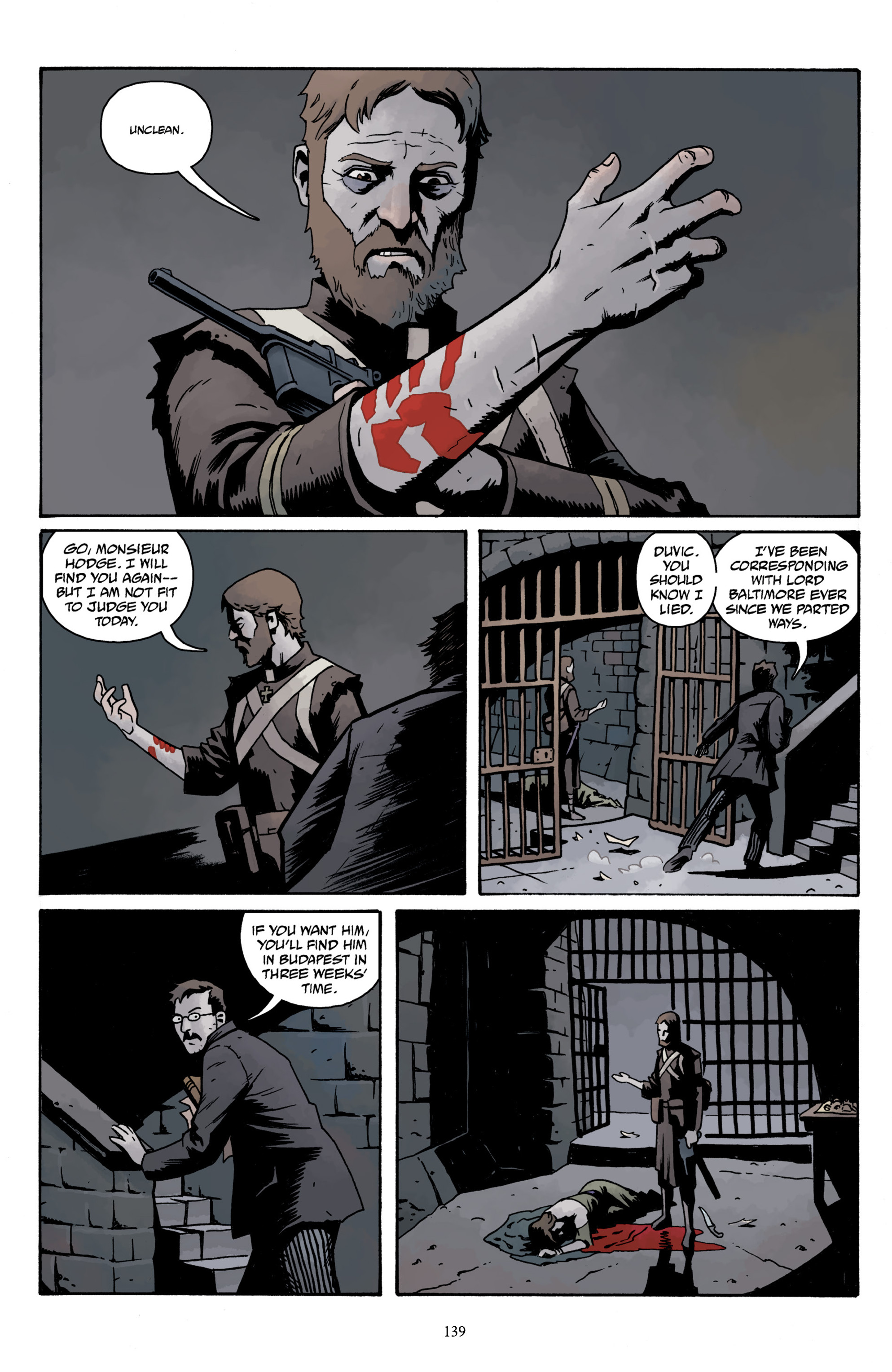 Read online Baltimore Volume 3: A Passing Stranger and Other Stories comic -  Issue # Full - 141