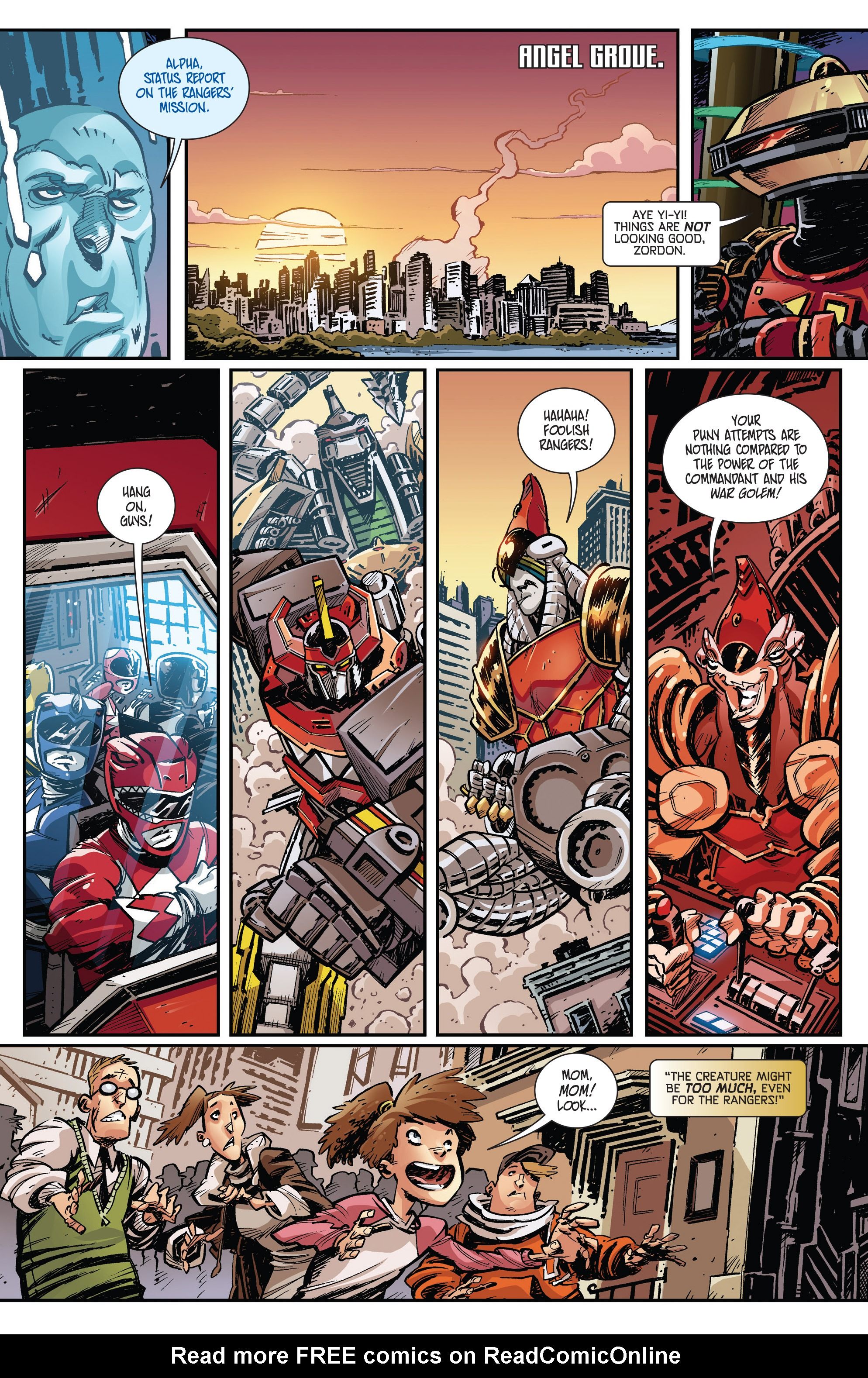 Read online Mighty Morphin Power Rangers comic -  Issue # _Annual 1 - 37