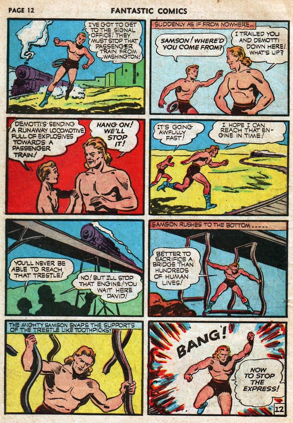 Read online Fantastic Comics comic -  Issue #18 - 14