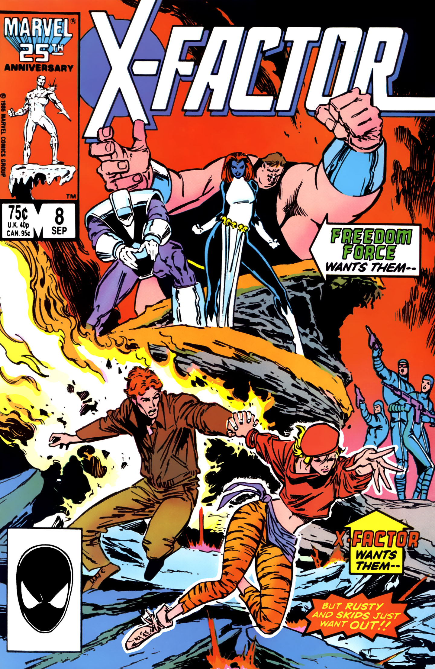 Read online X-Factor (1986) comic -  Issue #8 - 1