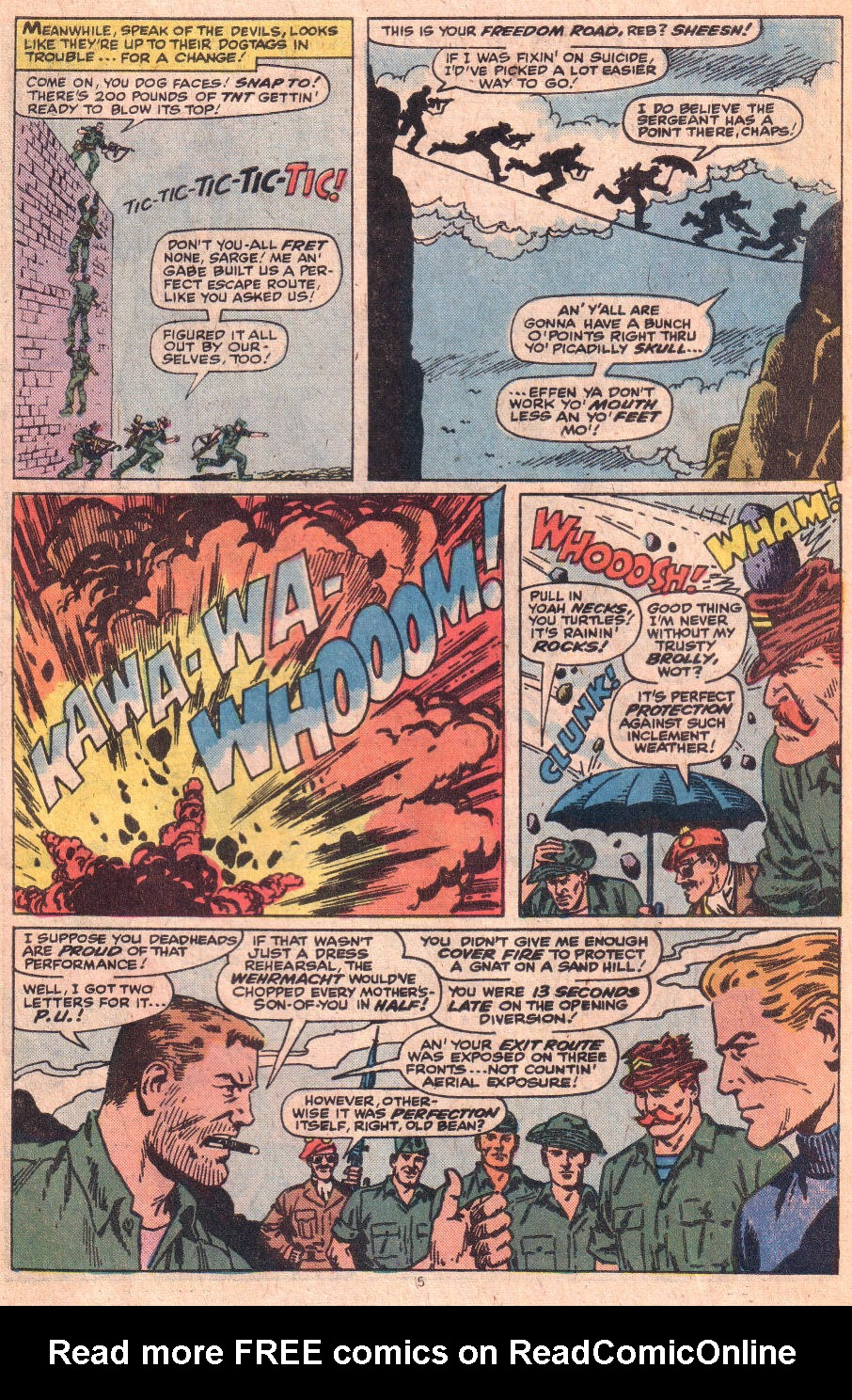 Read online Sgt. Fury comic -  Issue #153 - 7