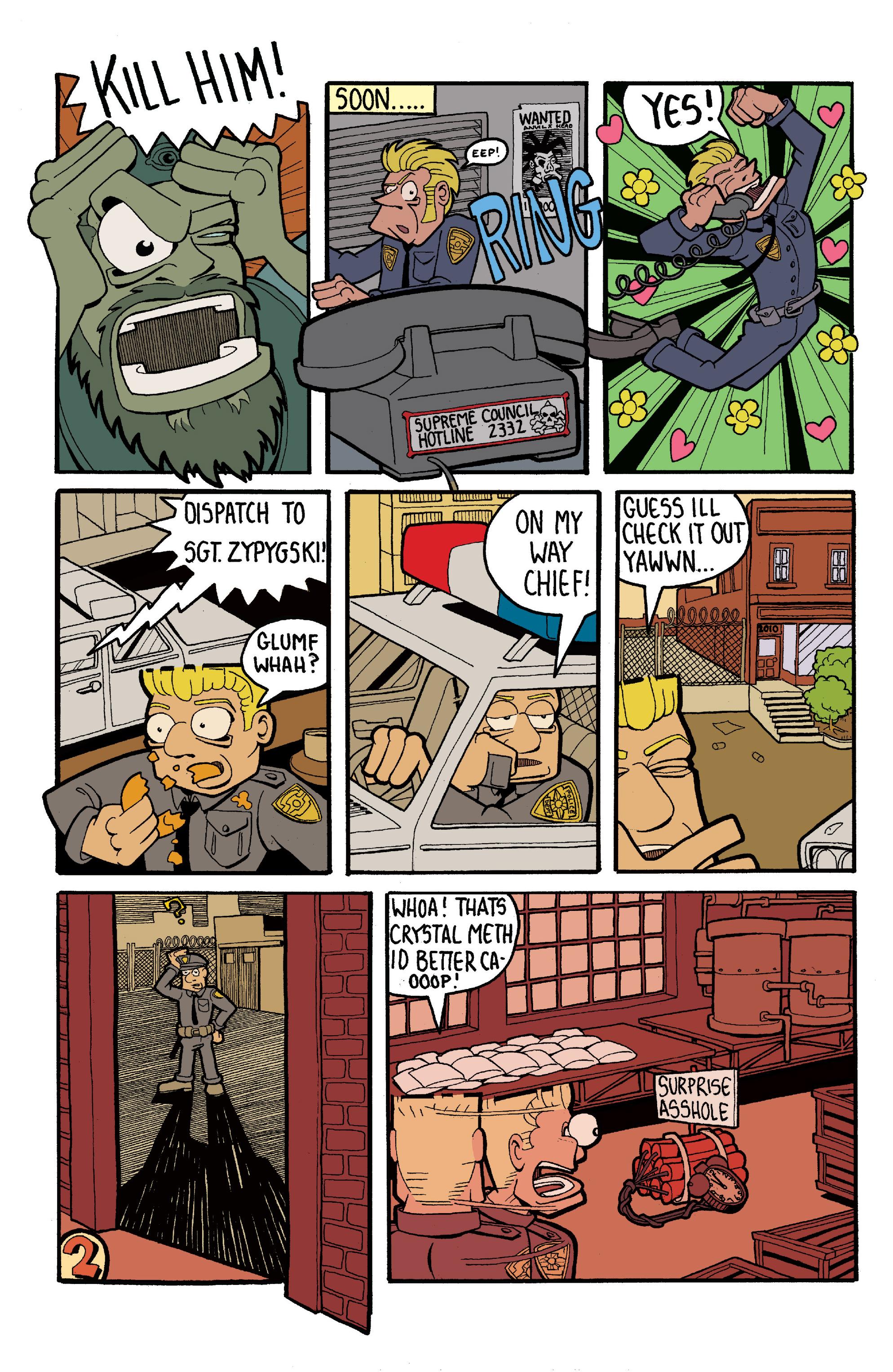 Read online Gwar: Orgasmageddon comic -  Issue #1 - 22