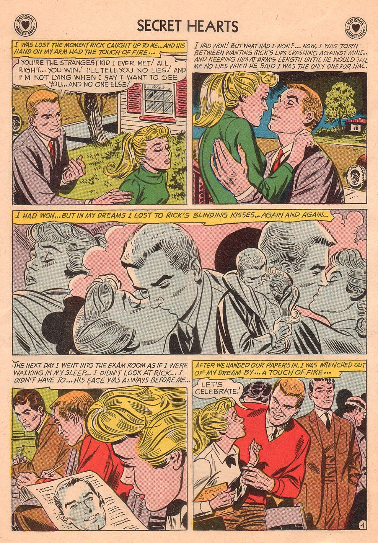 Read online Secret Hearts comic -  Issue #74 - 30