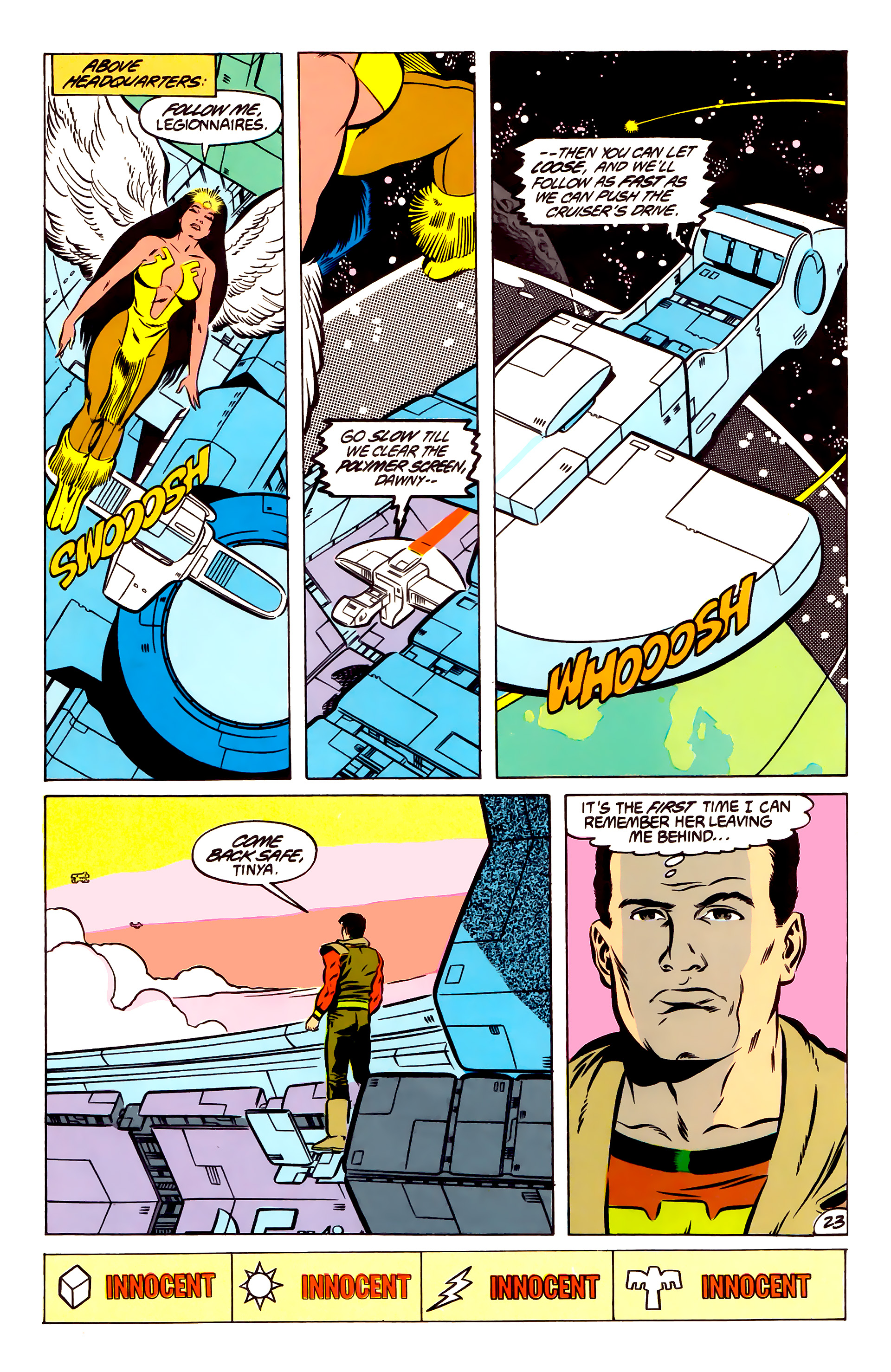 Legion of Super-Heroes (1984) 51 Page 23