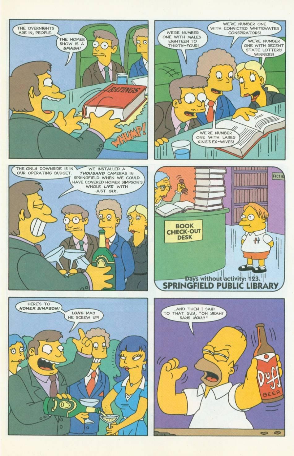 Read online Simpsons Comics comic -  Issue #42 - 14