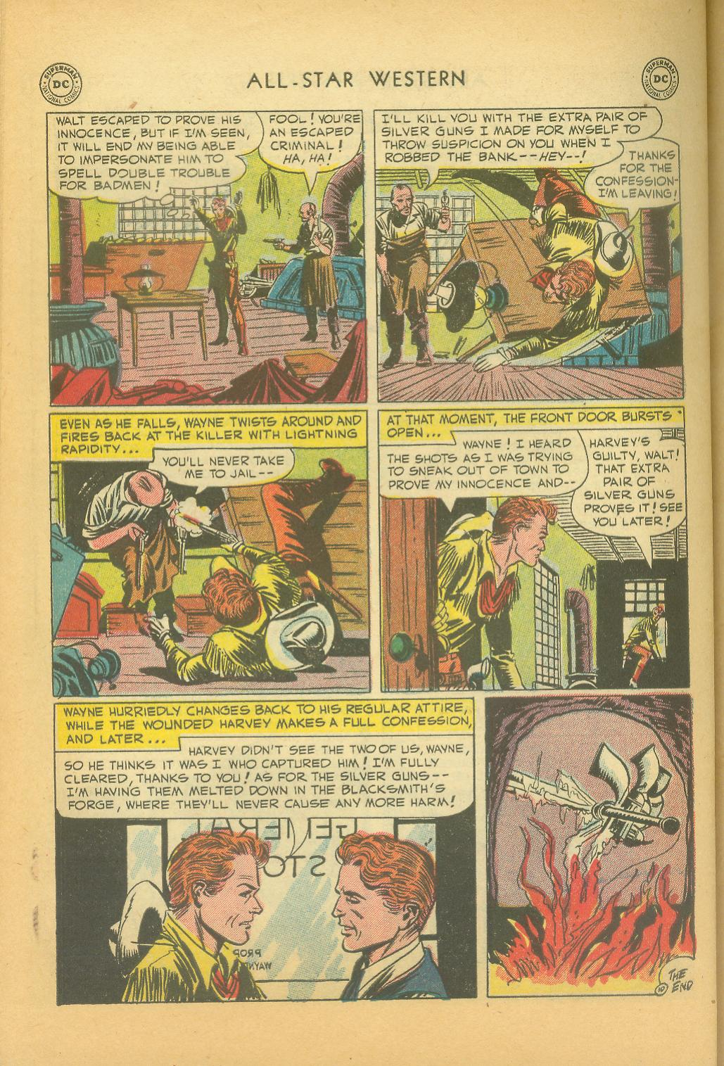 Read online All-Star Western (1951) comic -  Issue #61 - 40