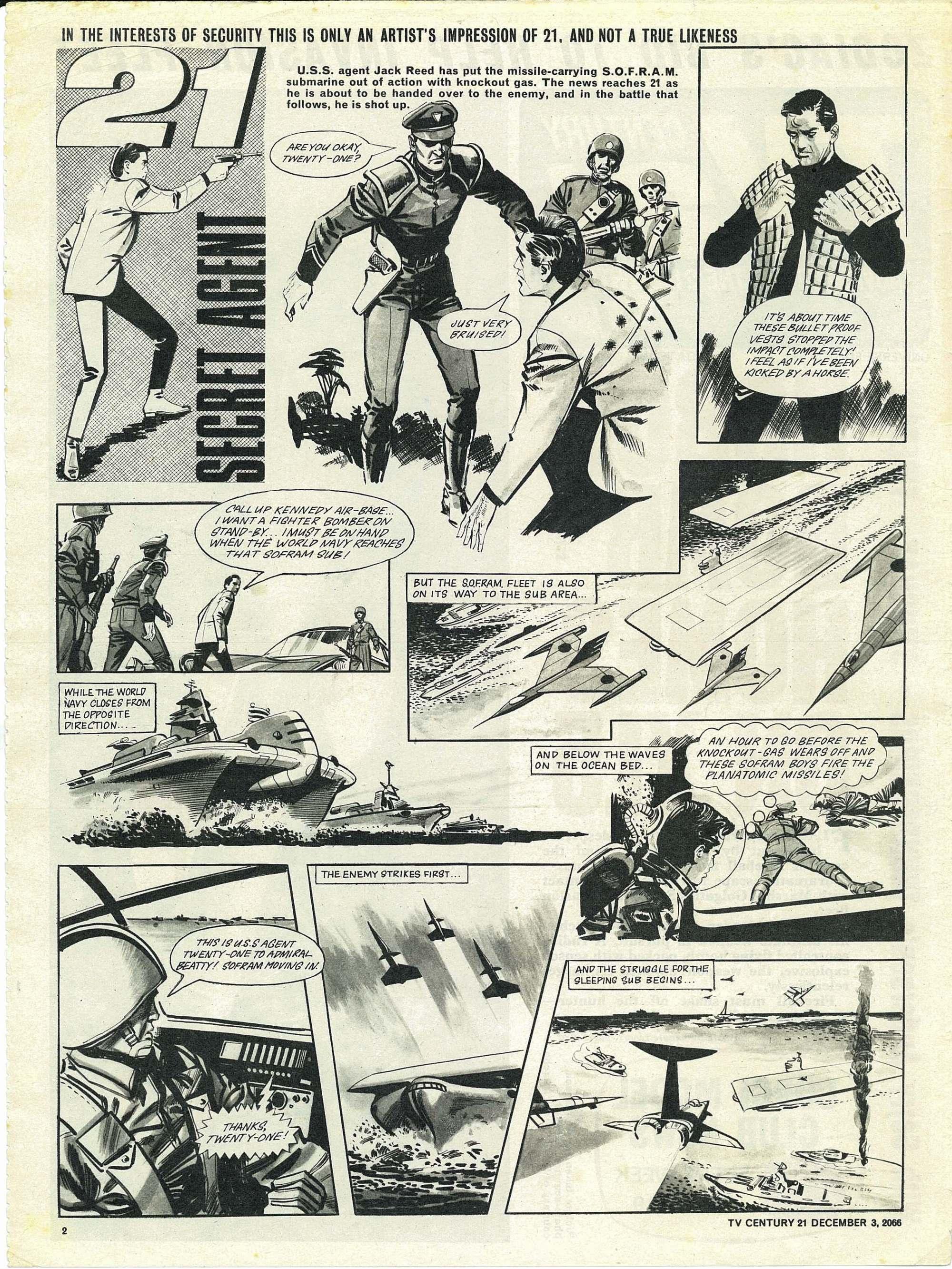 Read online TV Century 21 (TV 21) comic -  Issue #98 - 2