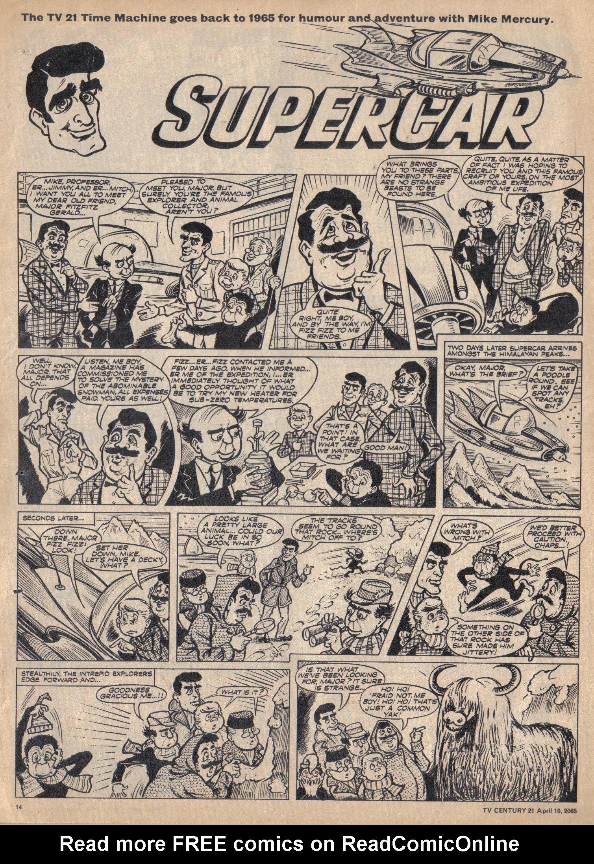Read online TV Century 21 (TV 21) comic -  Issue #12 - 13