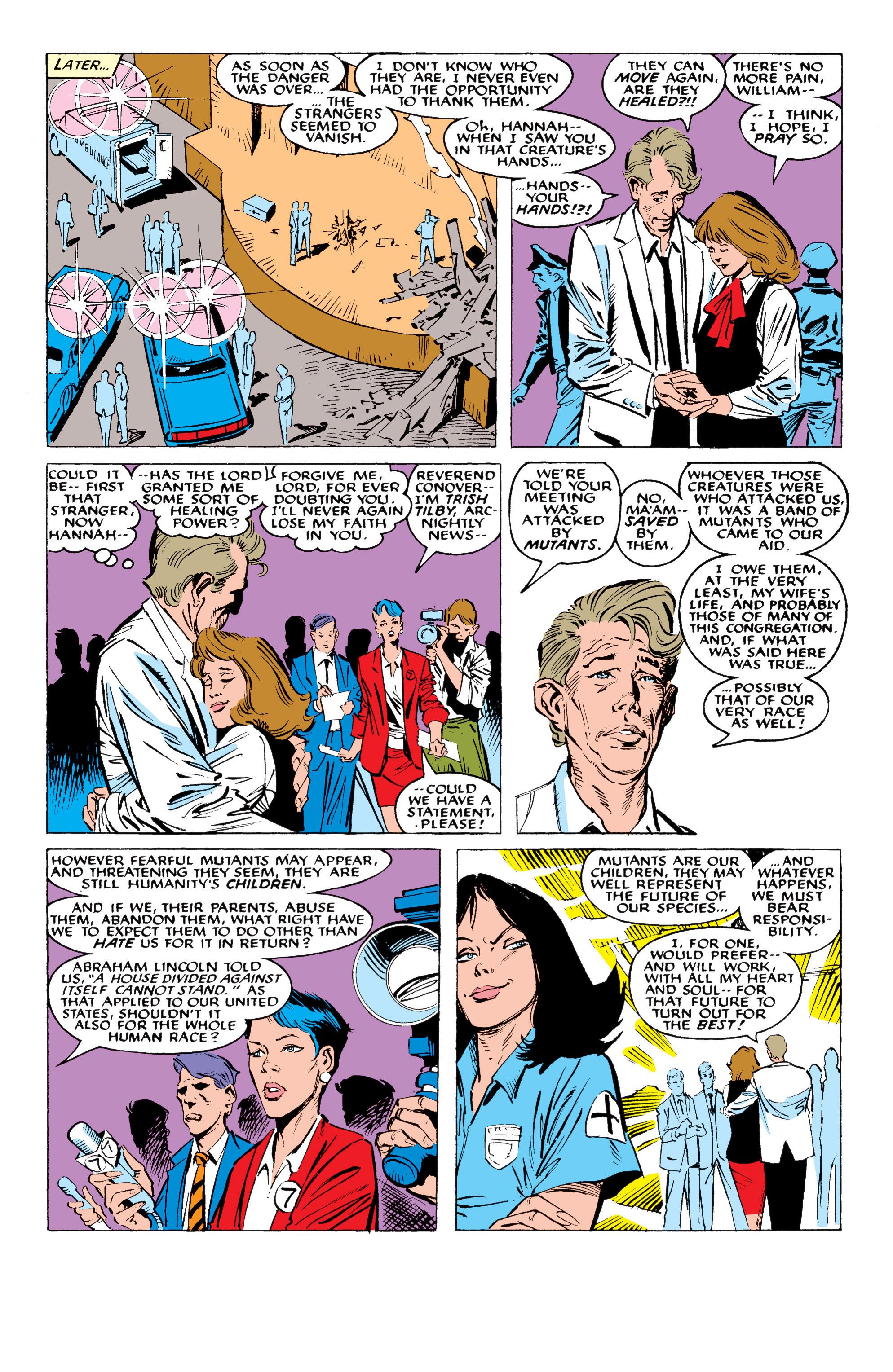 Read online Uncanny X-Men (1963) comic -  Issue #234 - 22