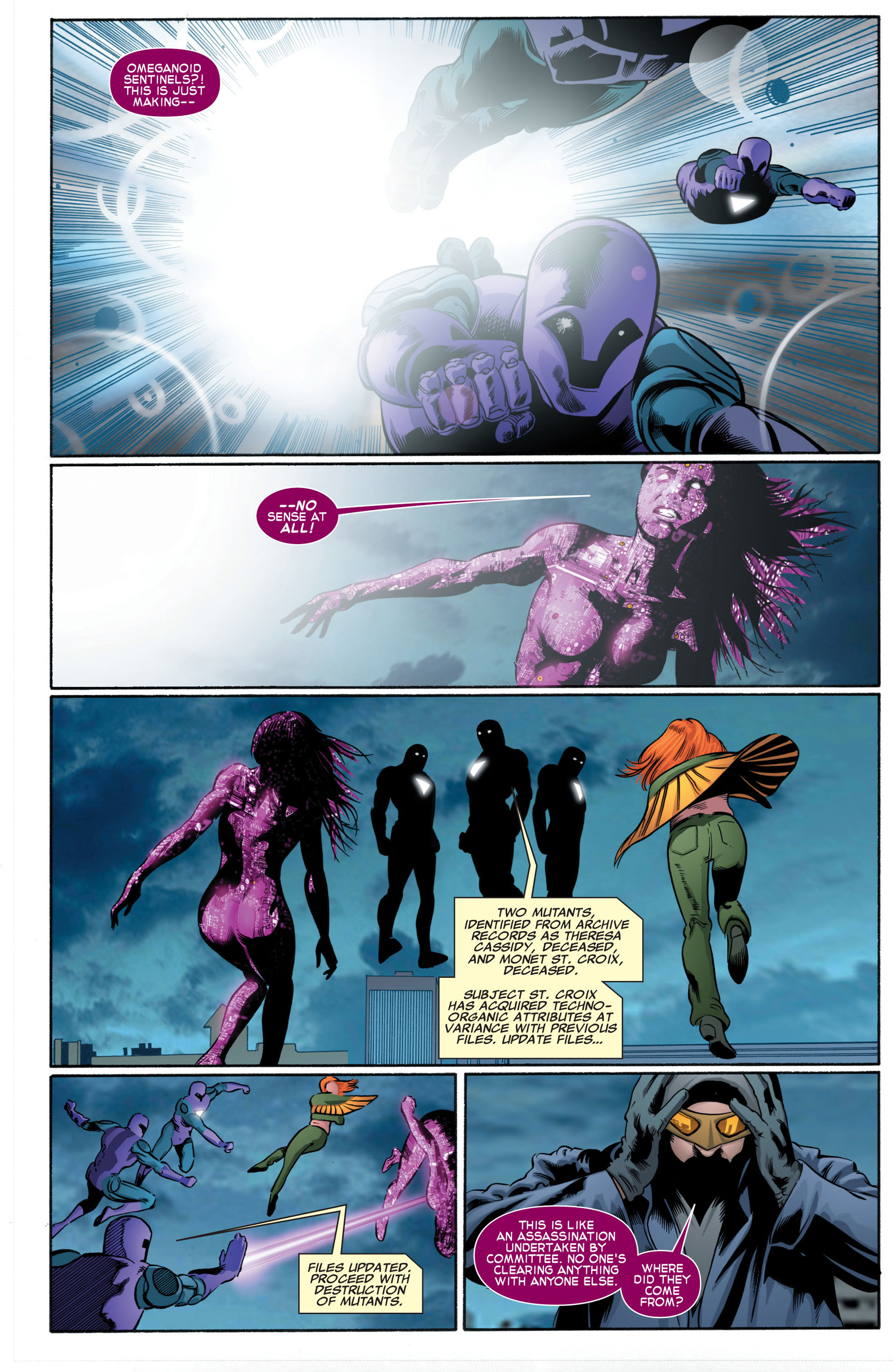 Read online X-Factor (2006) comic -  Issue #46 - 22