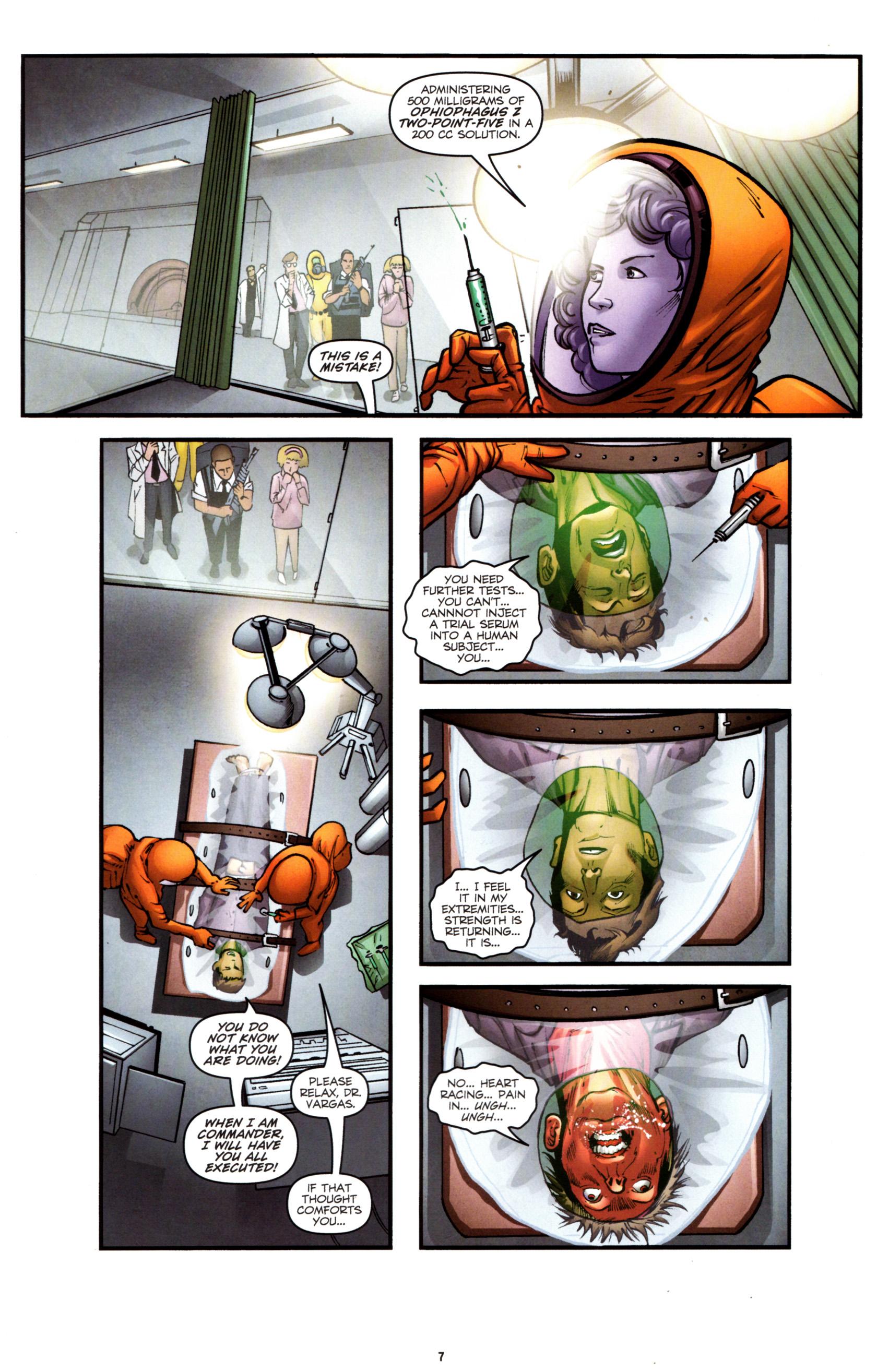 Read online G.I. Joe: Snake Eyes comic -  Issue #8 - 10