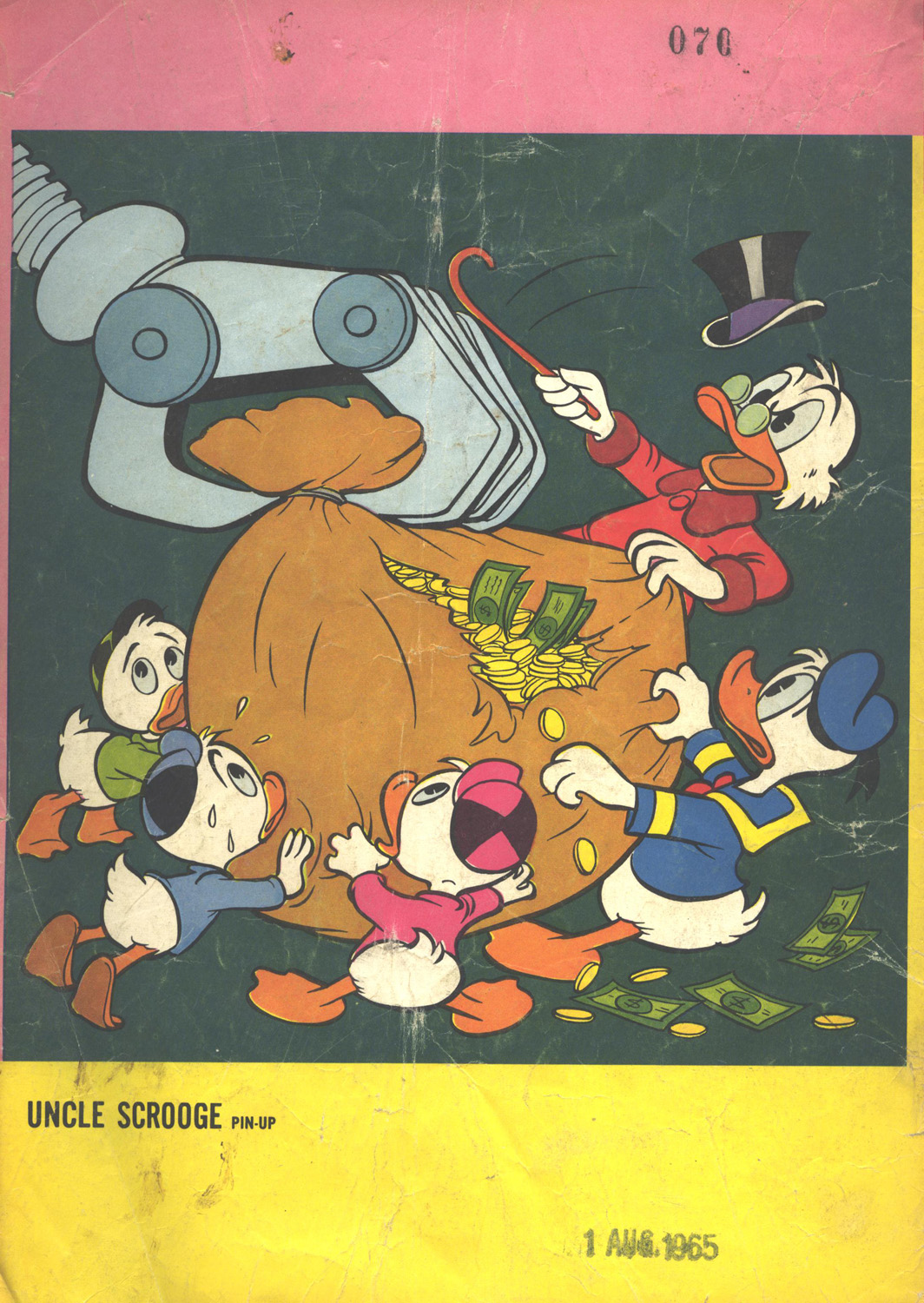 Read online Uncle Scrooge (1953) comic -  Issue #58 - 36