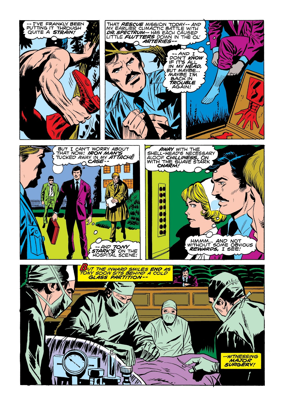 Read online Marvel Masterworks: The Invincible Iron Man comic -  Issue # TPB 9 (Part 3) - 80