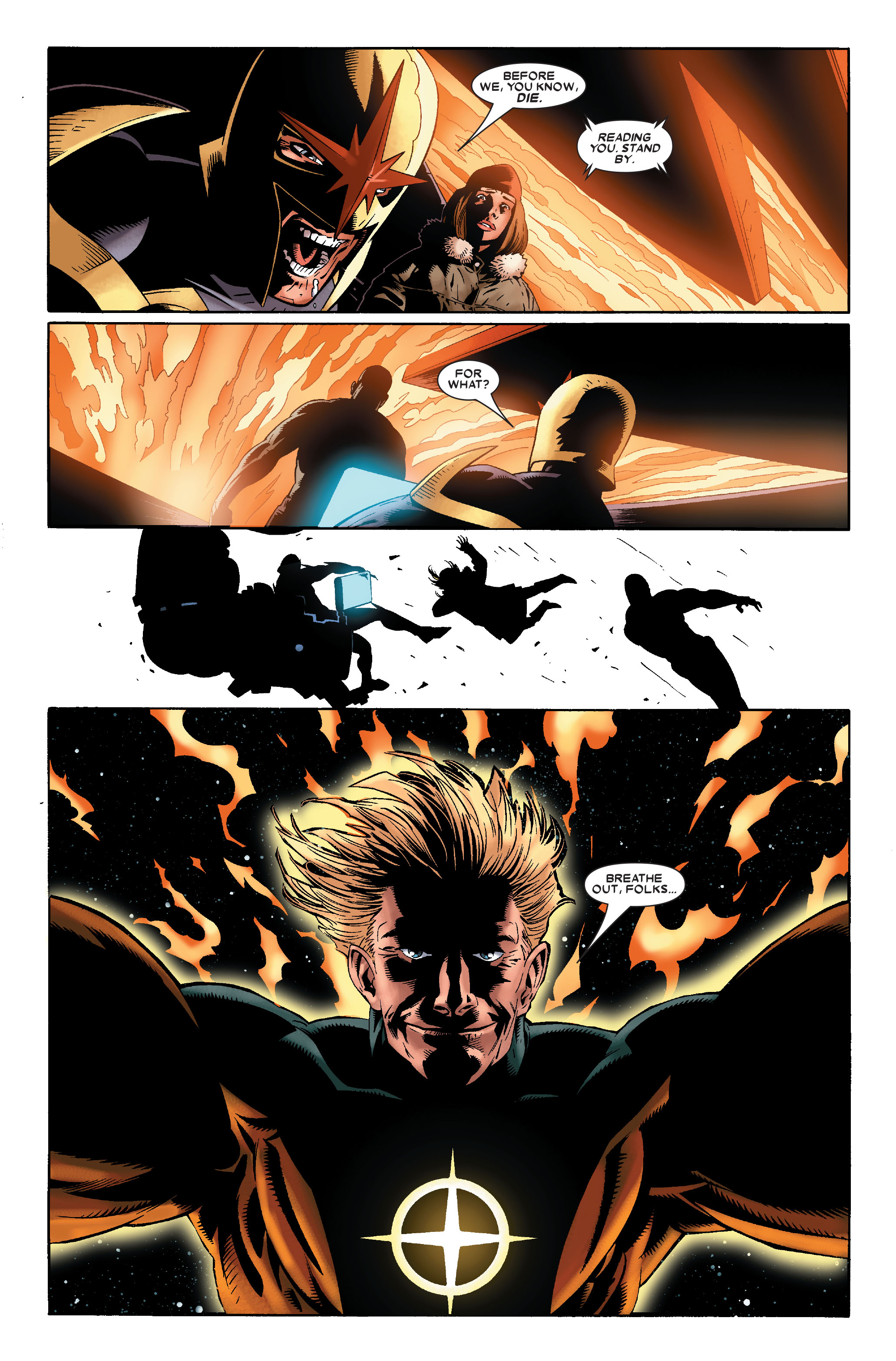 Read online Annihilation: Nova comic -  Issue #2 - 22