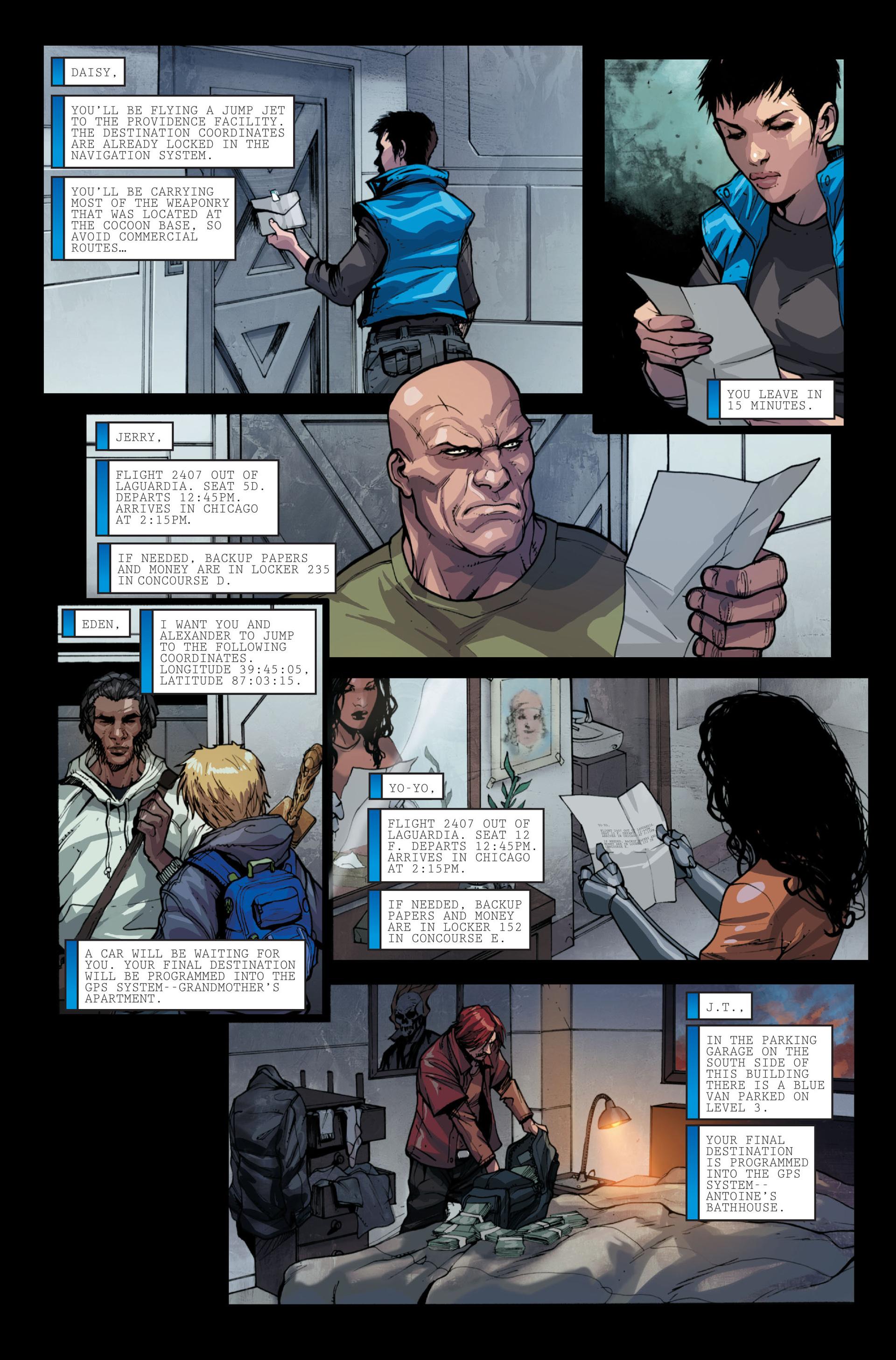 Read online Secret Warriors comic -  Issue #13 - 24