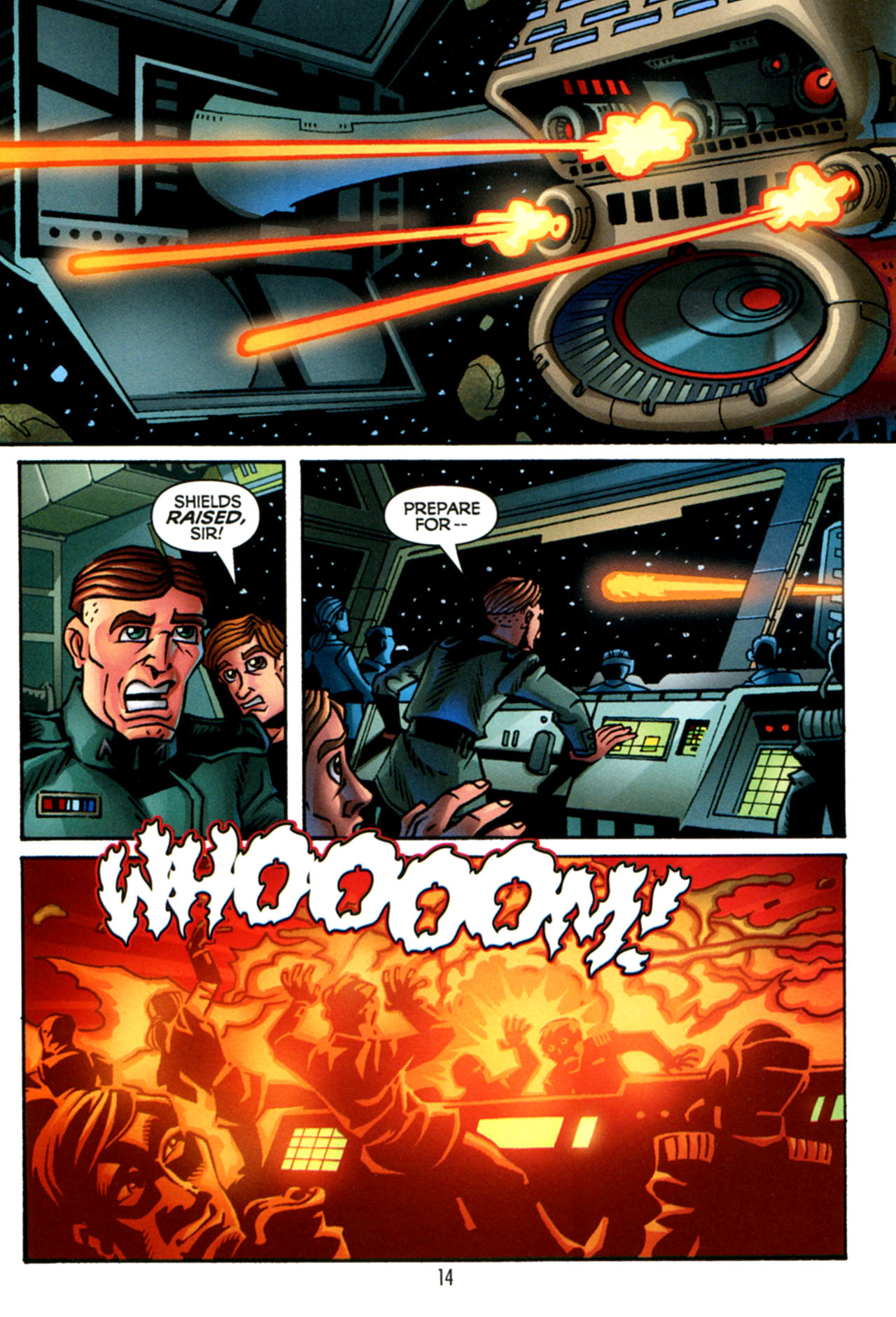 Read online Star Wars: The Clone Wars - The Starcrusher Trap comic -  Issue # Full - 15