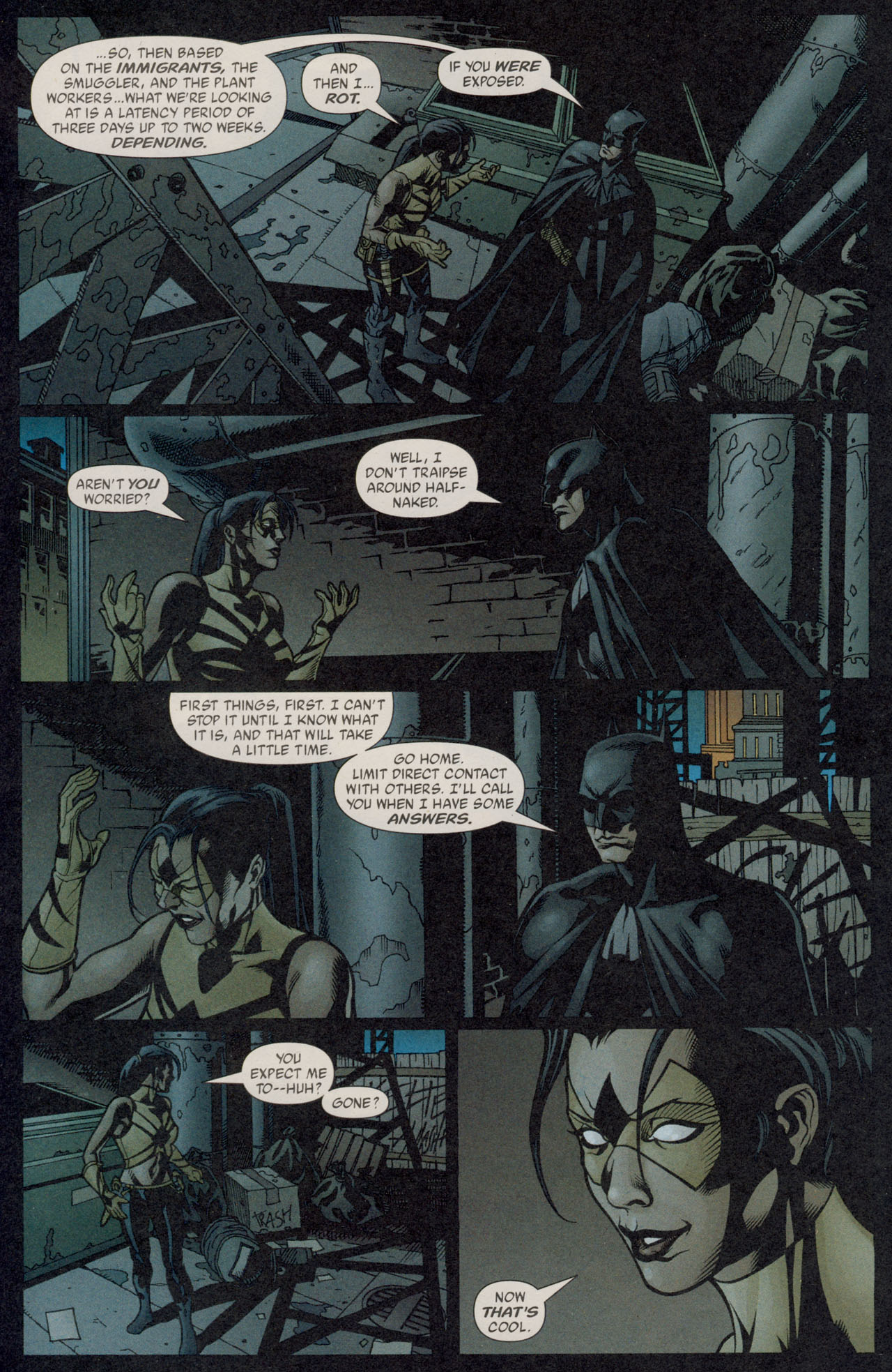 Read online Batman War Drums comic -  Issue # TPB - 132