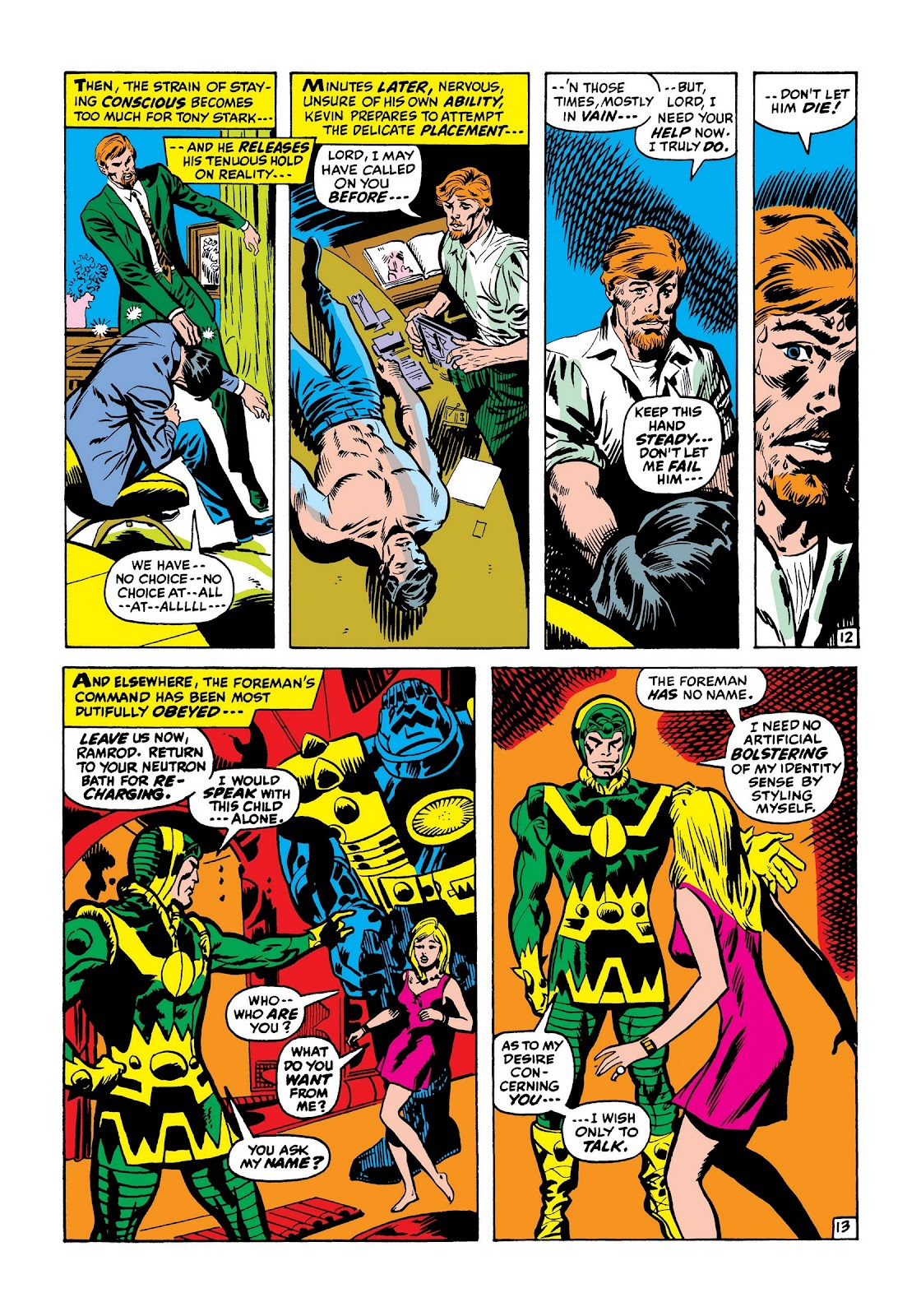 Read online Marvel Masterworks: The Invincible Iron Man comic -  Issue # TPB 7 (Part 3) - 61